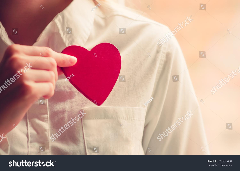 Heart Shape Love Symbol Woman Hands Stock Photo Edit Now 366755480