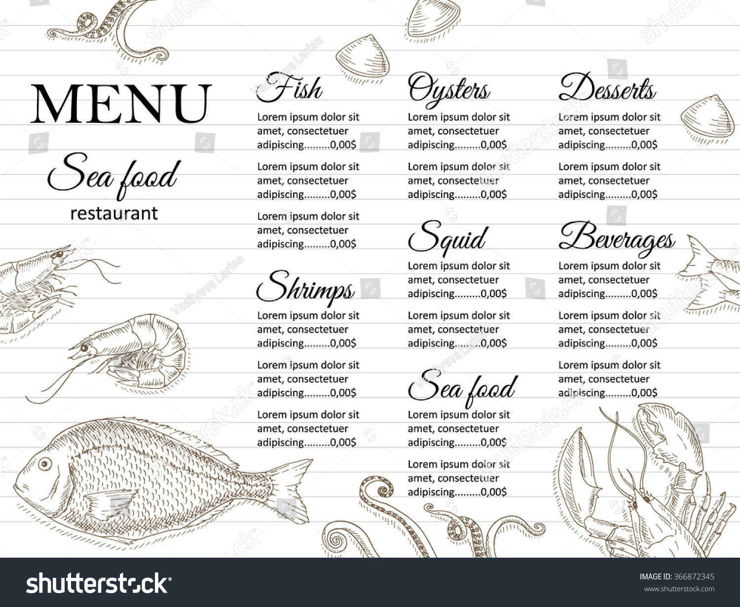 White Bear Restaurant Menu