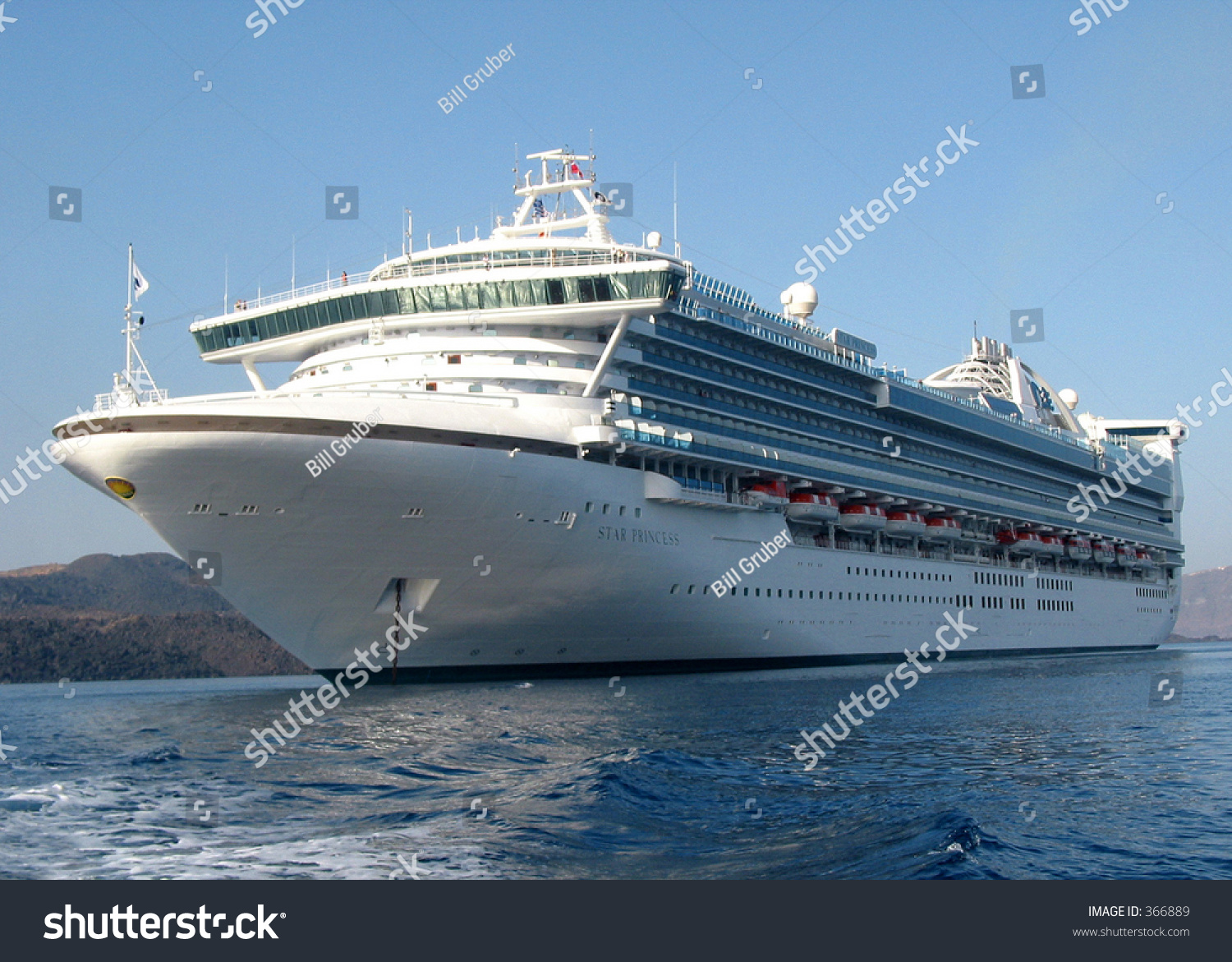 Star Princess Cruise Ship Stock Photo (Edit Now) 366889