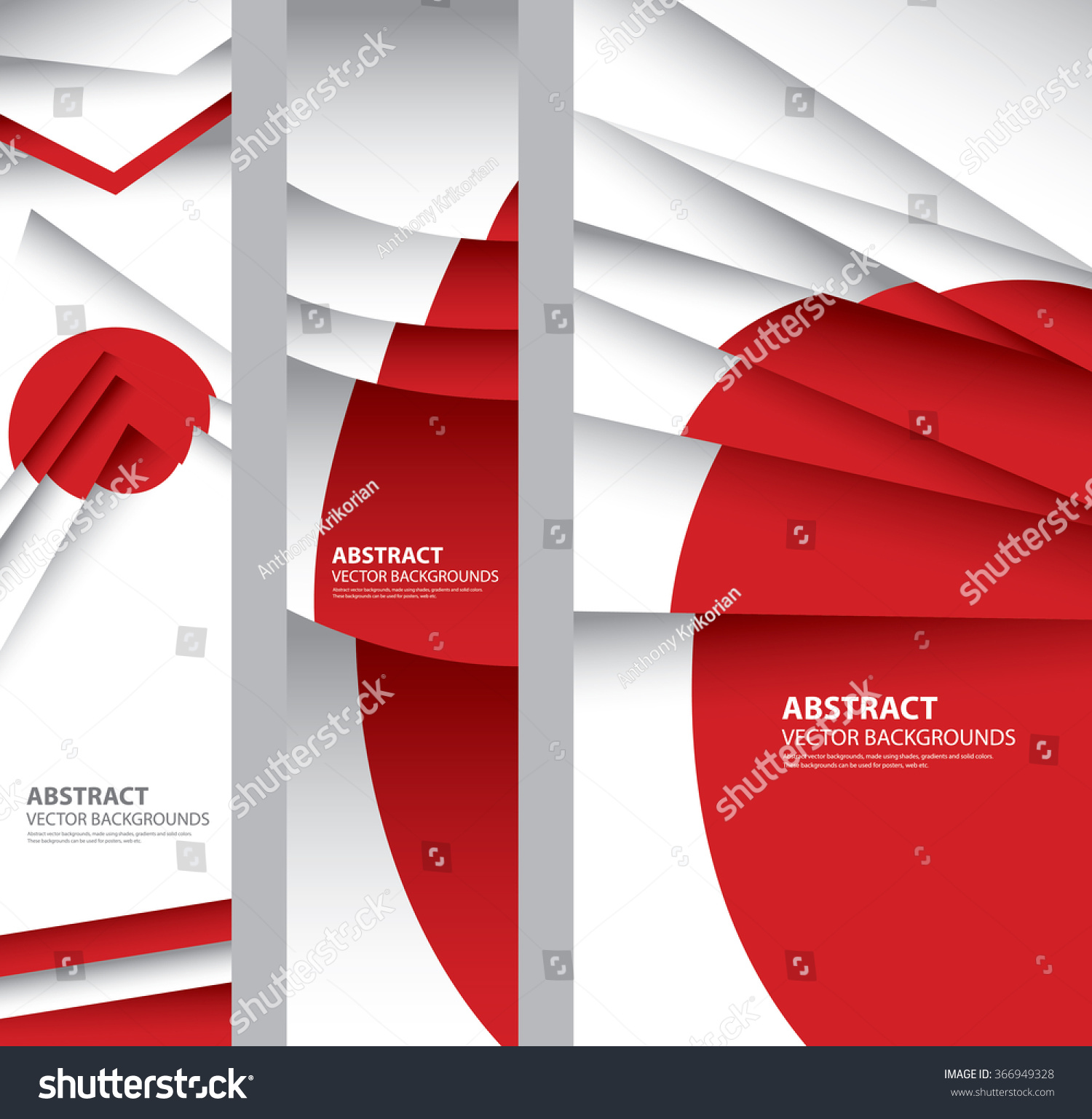abstract japan flag japanese colors vector stock vector 366949328