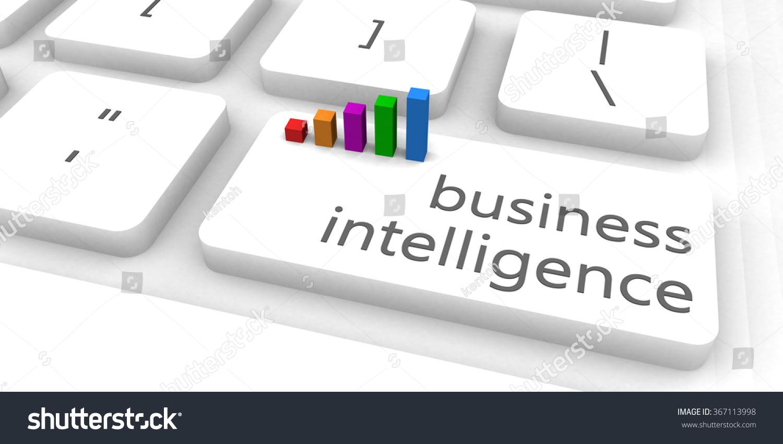 Business Intelligence Fast Easy Website Concept Stock Illustration ...