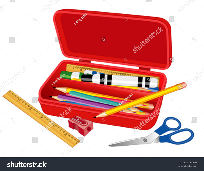 Old Fashioned Pencil Case