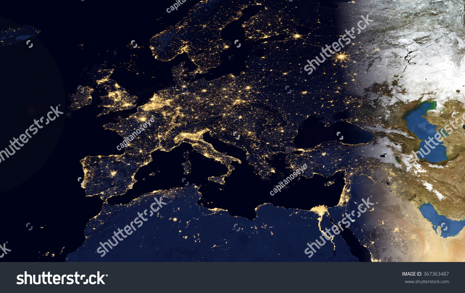 Europe night space view high resolution stock illustration 367363487 europe night space view high resolution map composition elements of this image furnished by gumiabroncs Choice Image