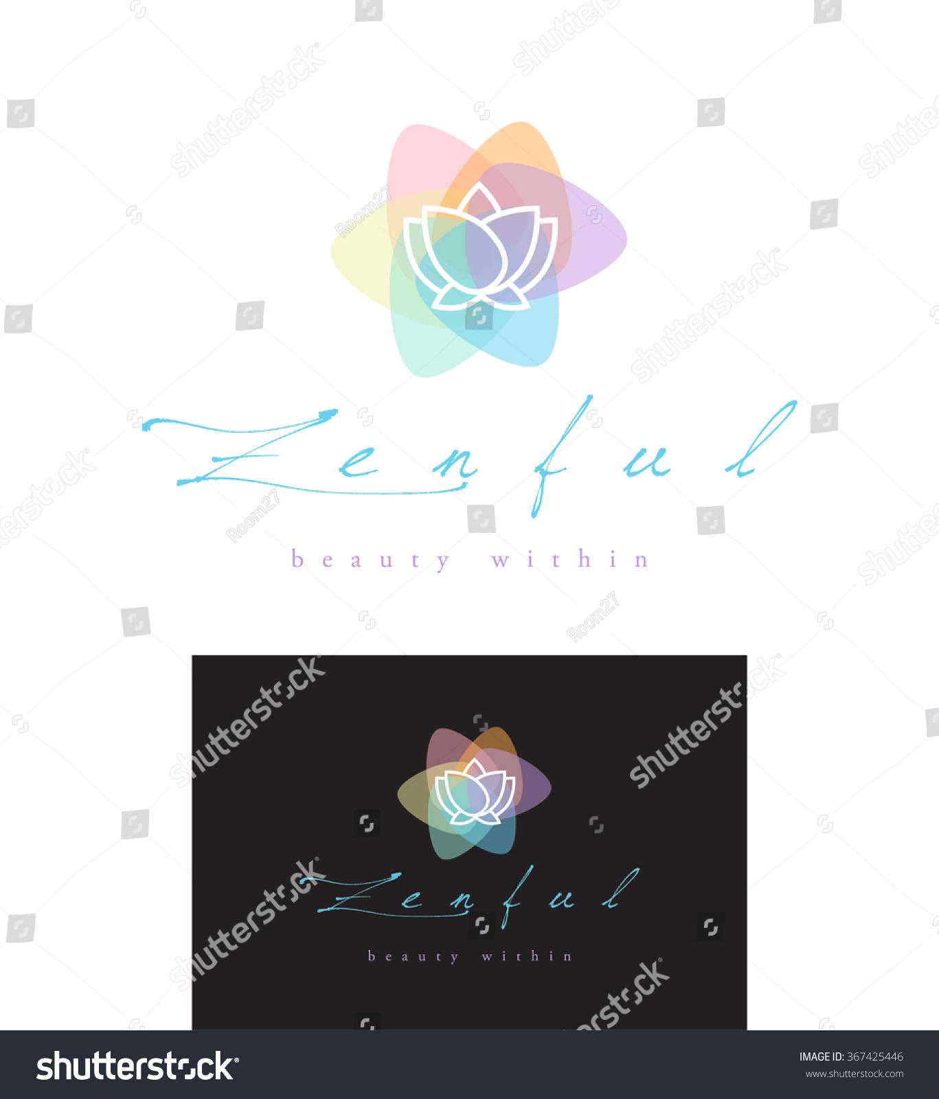 Premium Vector Logo Design Lotus Flower Stock Vector Royalty Free