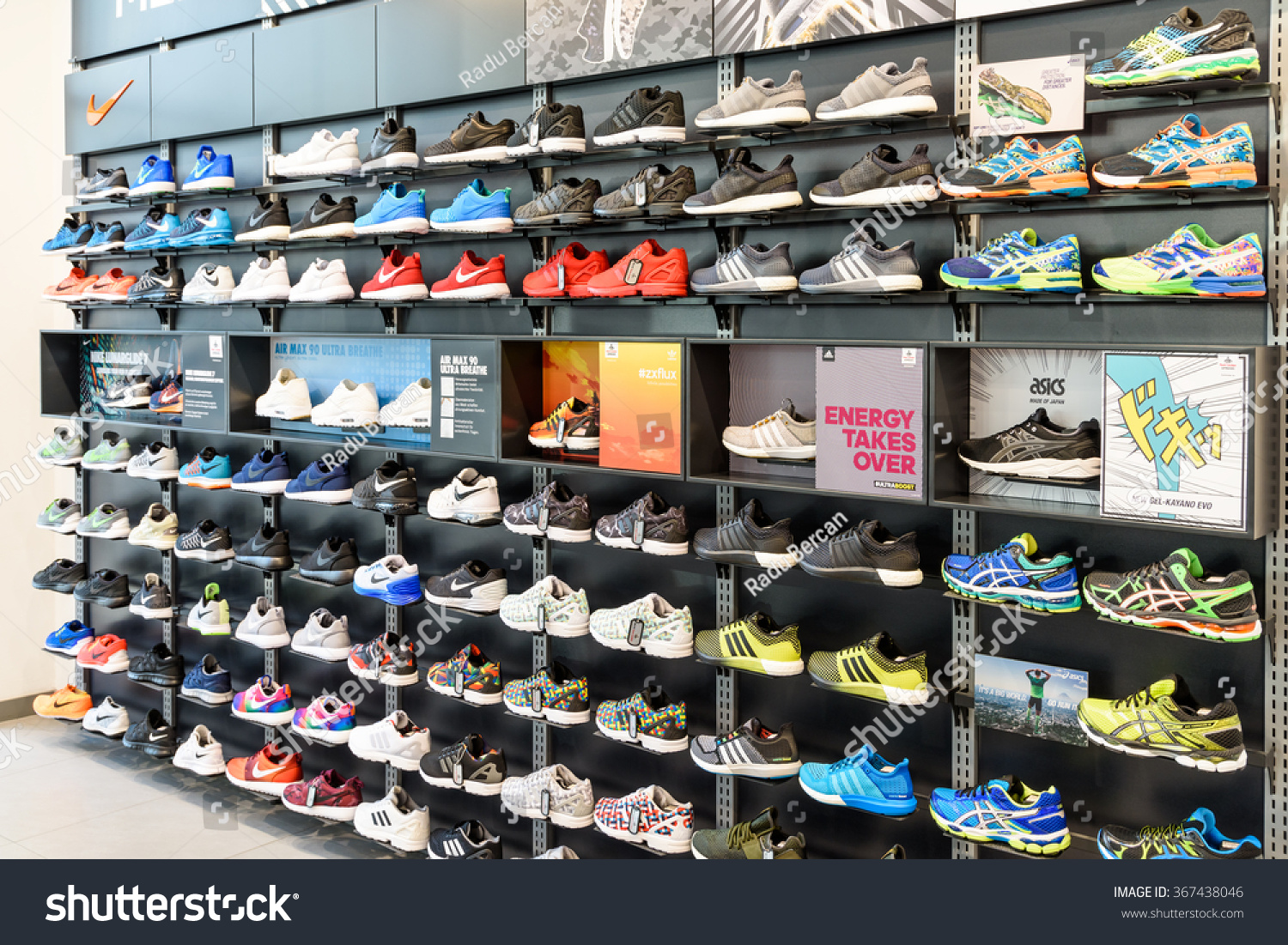 Vienna Austria August 08 2015 Nike Stock Photo (Edit Now
