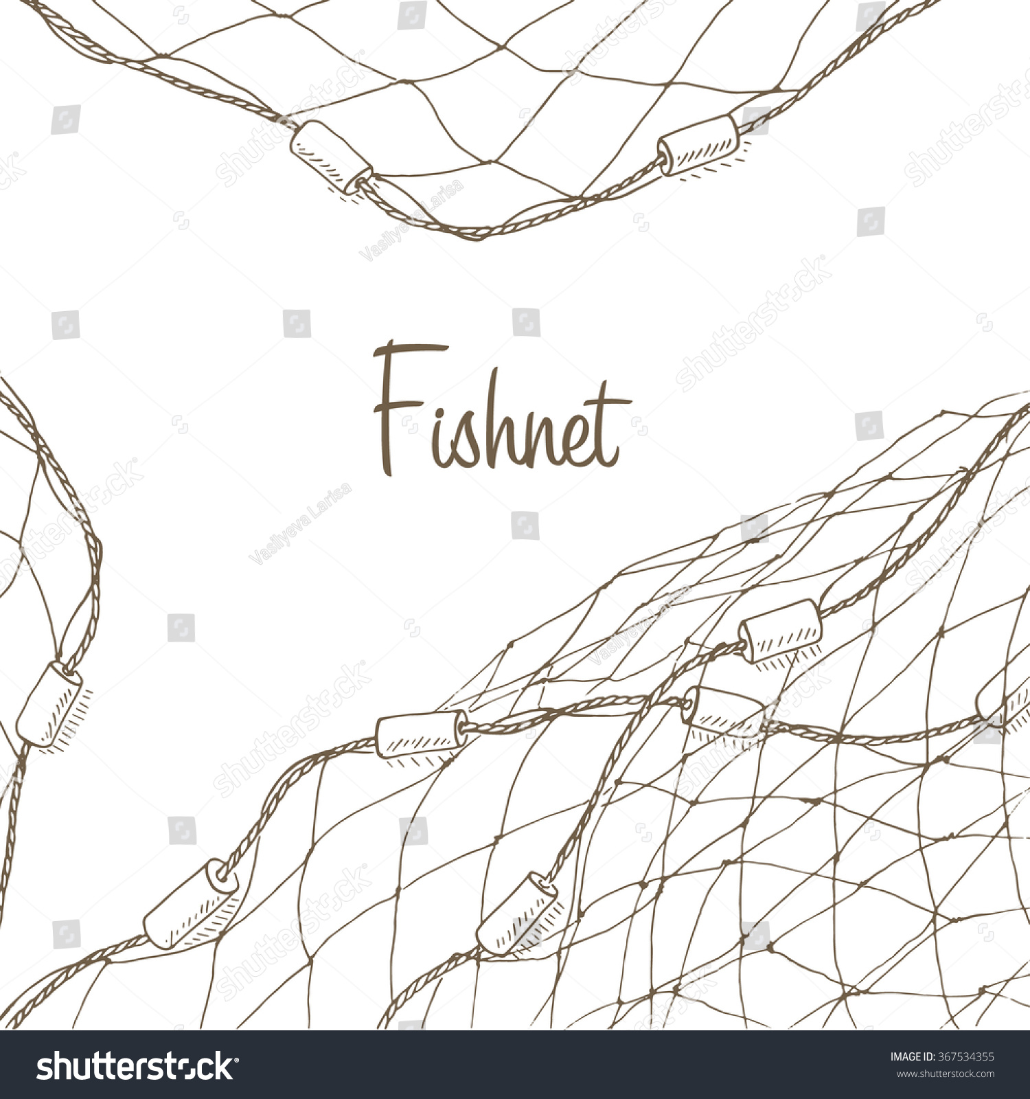 fishing net vector - photo #20