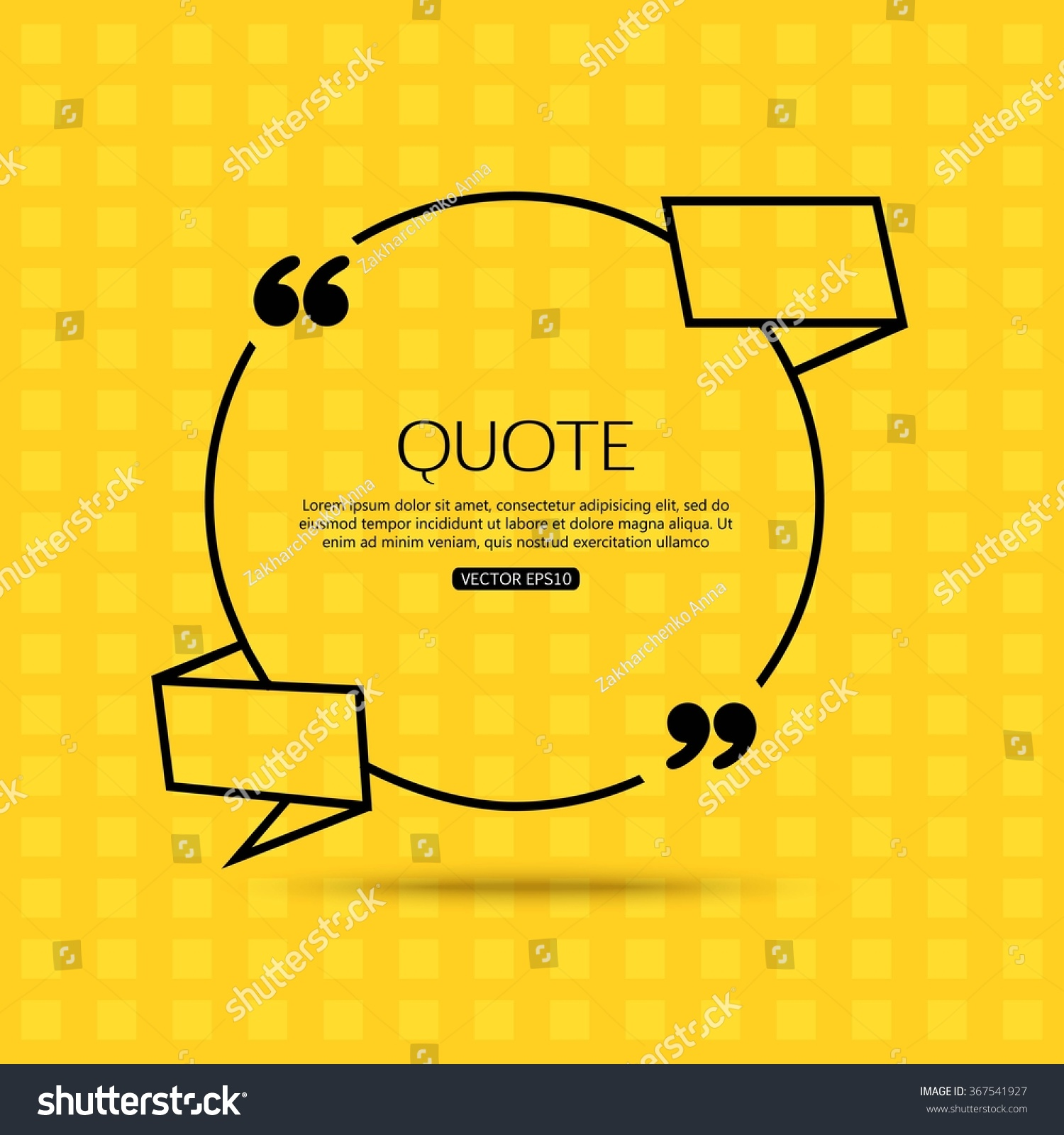 quote template for social networking business newspaper save to a lightbox