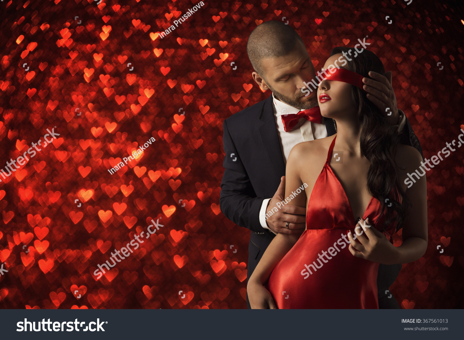 Sexy Couple Love Man Suit Woman Stock Photo 367561013 - Shutterstock-6516