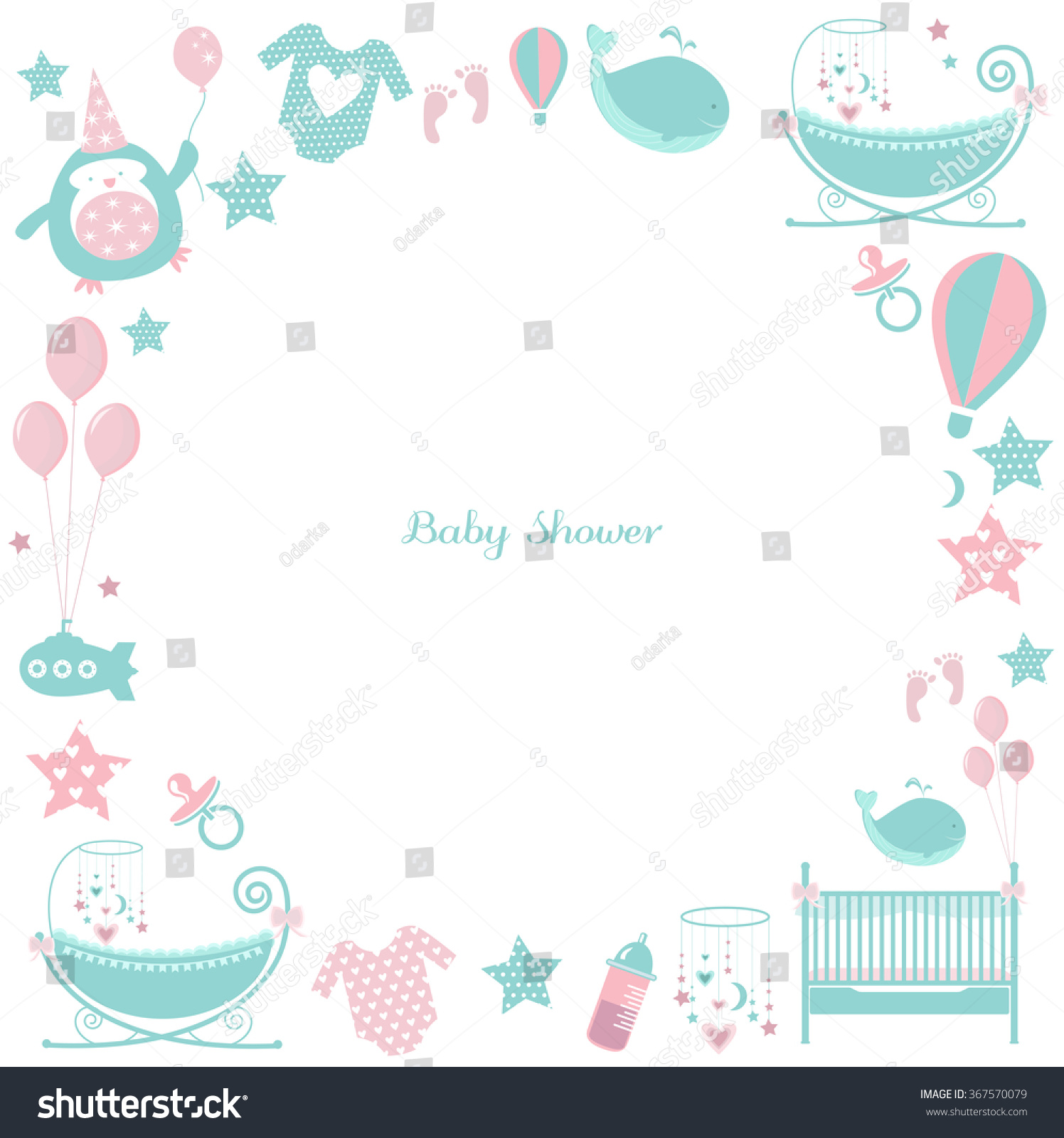 baby blue gingham frame vector baby blue gingham frame vector