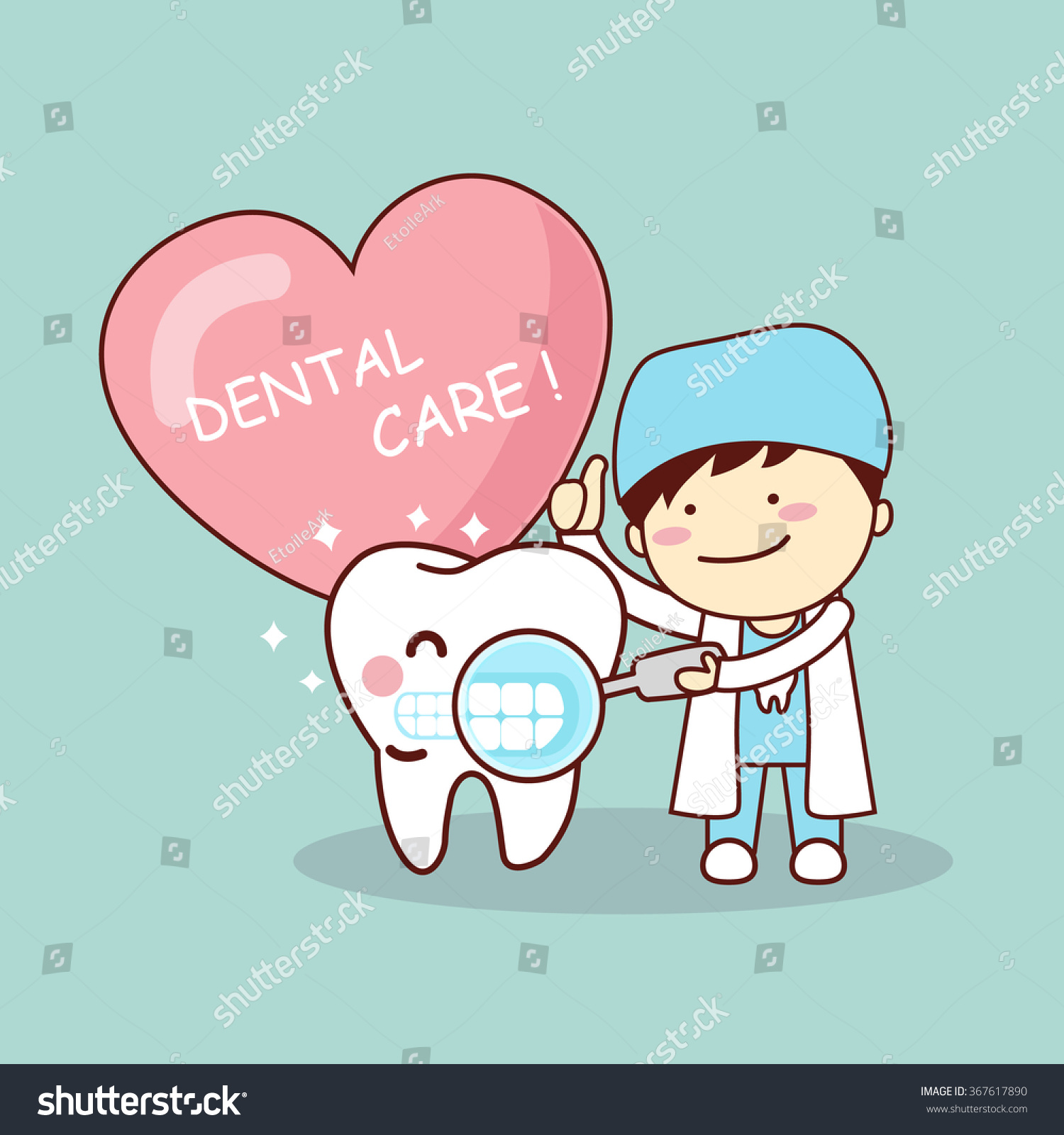 stock-vector-happy-cartoon-tooth-and-dentist-with-love-heart-great-for-health-dental-care-concept-367617890.jpg