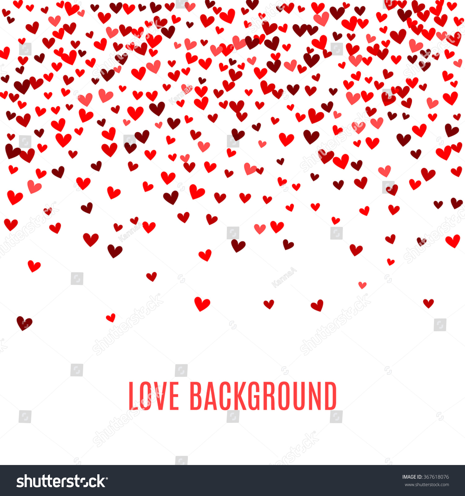 holiday hearts wallpaper vector - photo #2