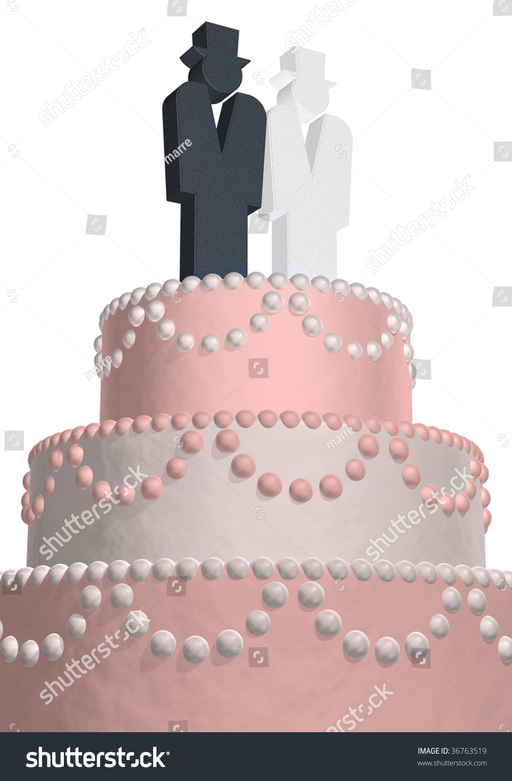 what do wedding cake symbolizes wedding cake with the symbols and stock photo 27049