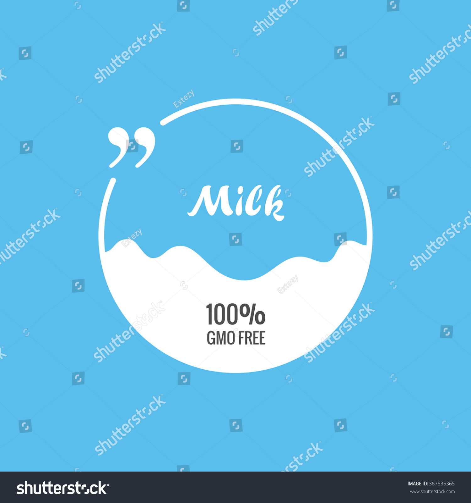 quote vector blank template bubble label stock vector