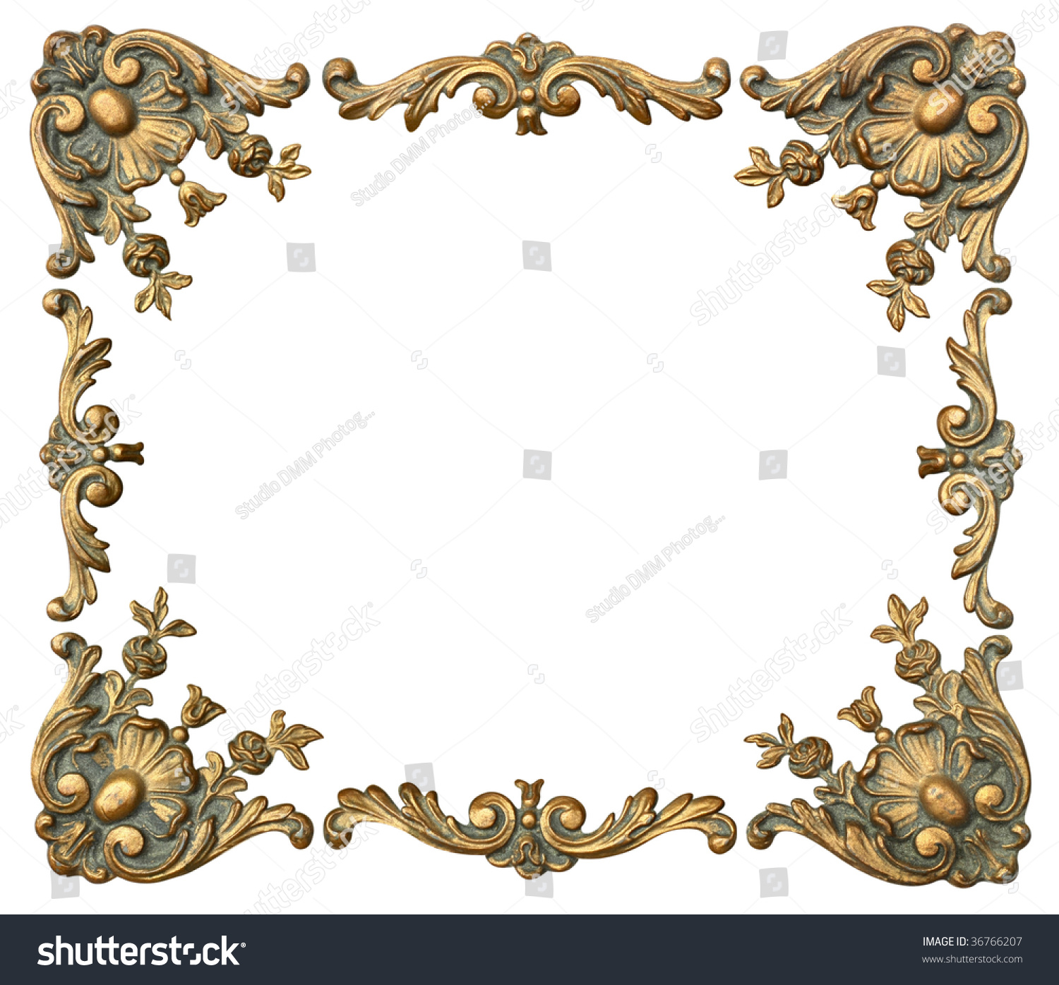 photo frame corners and ornaments
