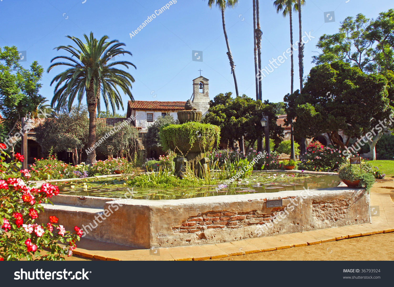 Beautiful San Juan Capistrano Mission Gardens