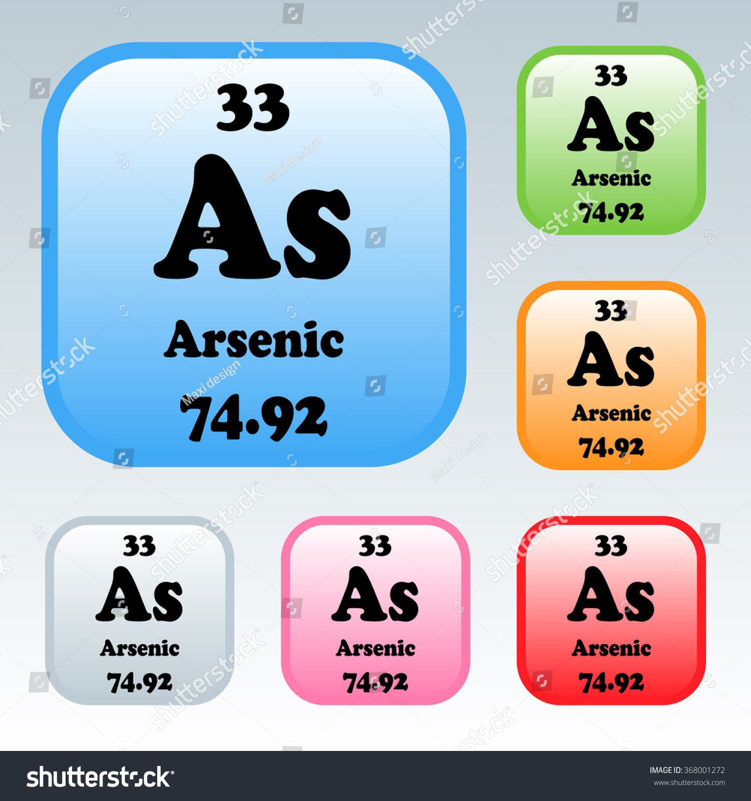 Periodic table elements arsenic stock vector 368001272 shutterstock the periodic table of the elements arsenic biocorpaavc Image collections