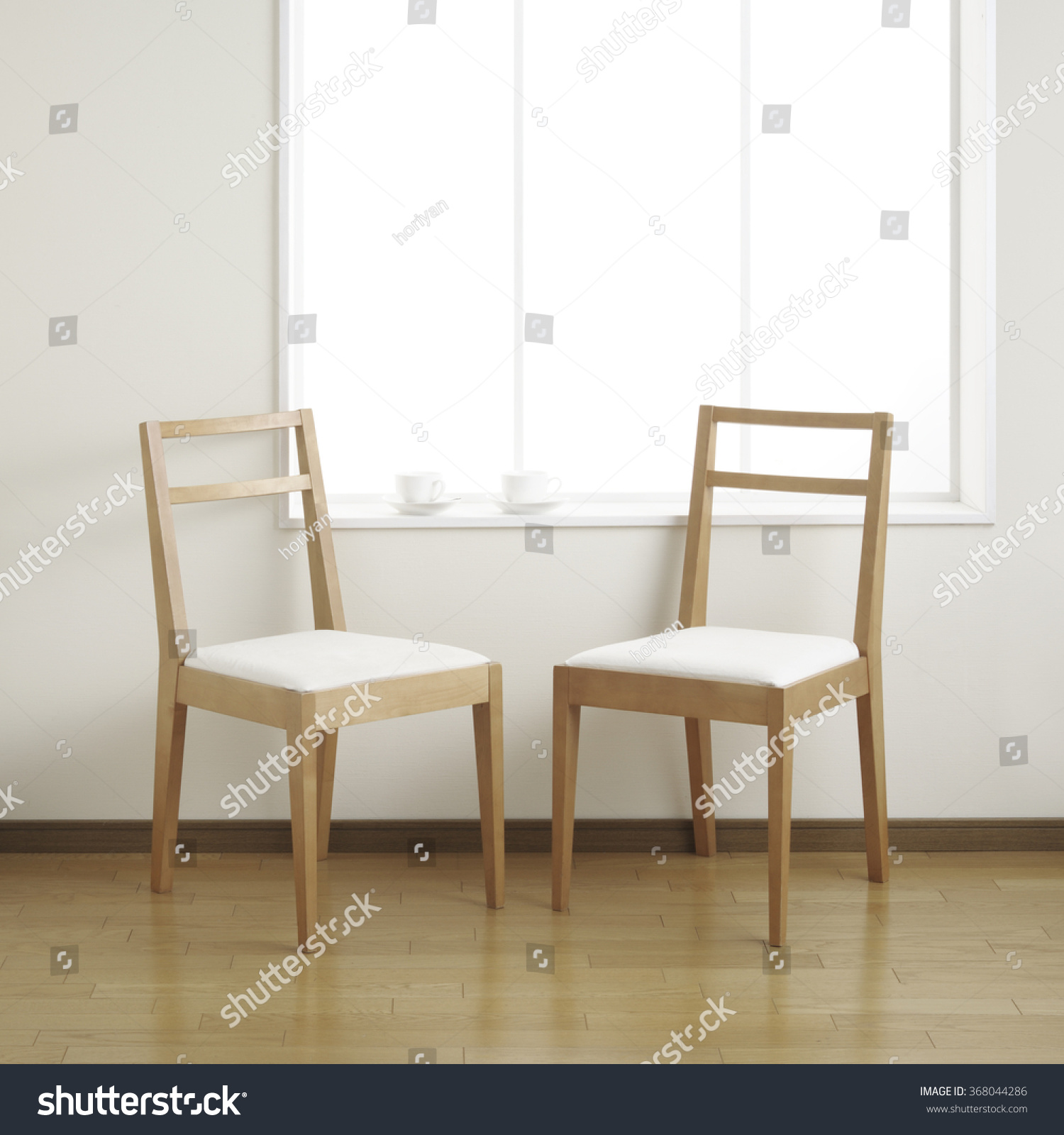 Two Chairs Room Coffee Cup Stock Edit Now