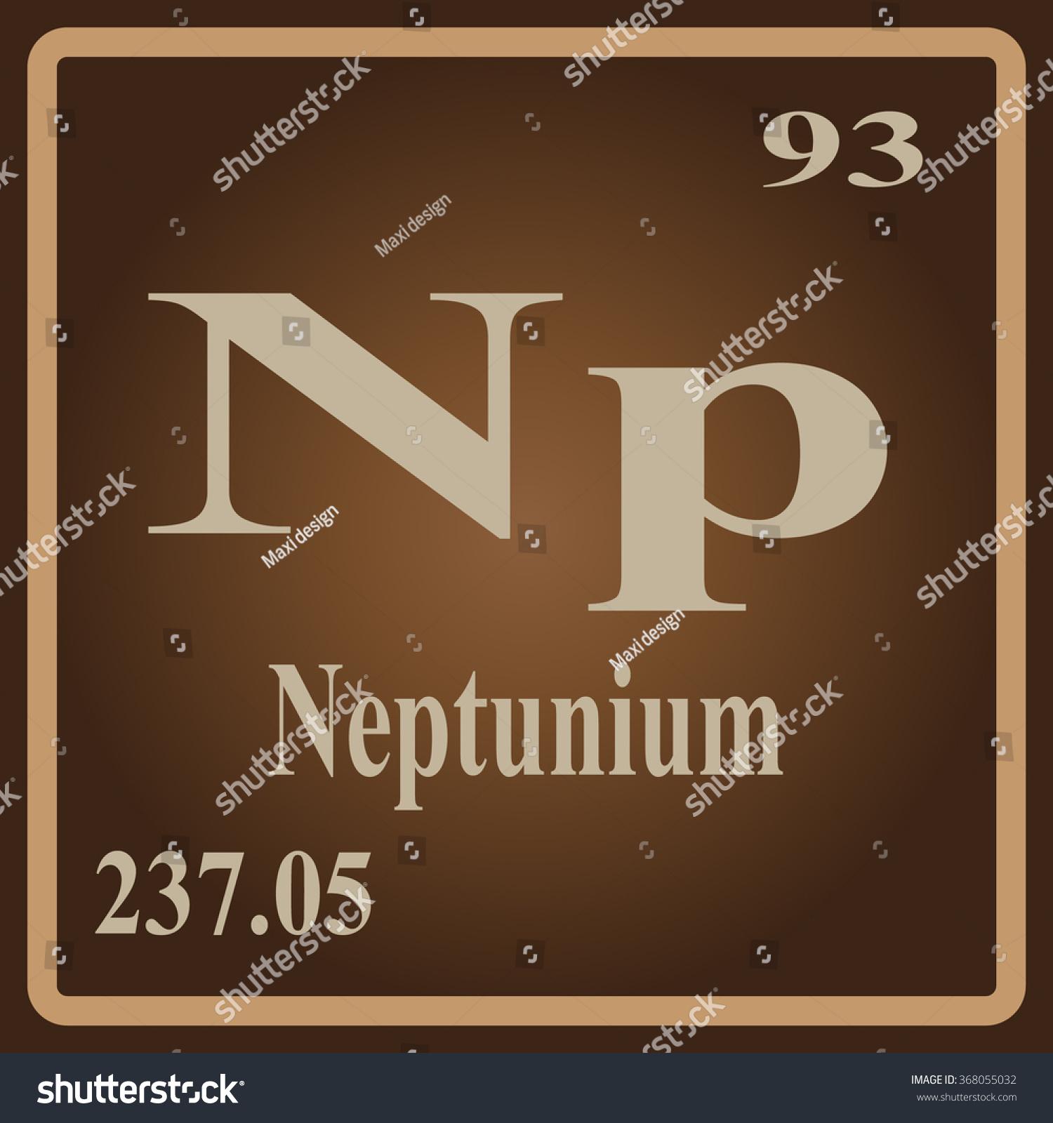 Neptunium Periodic Table