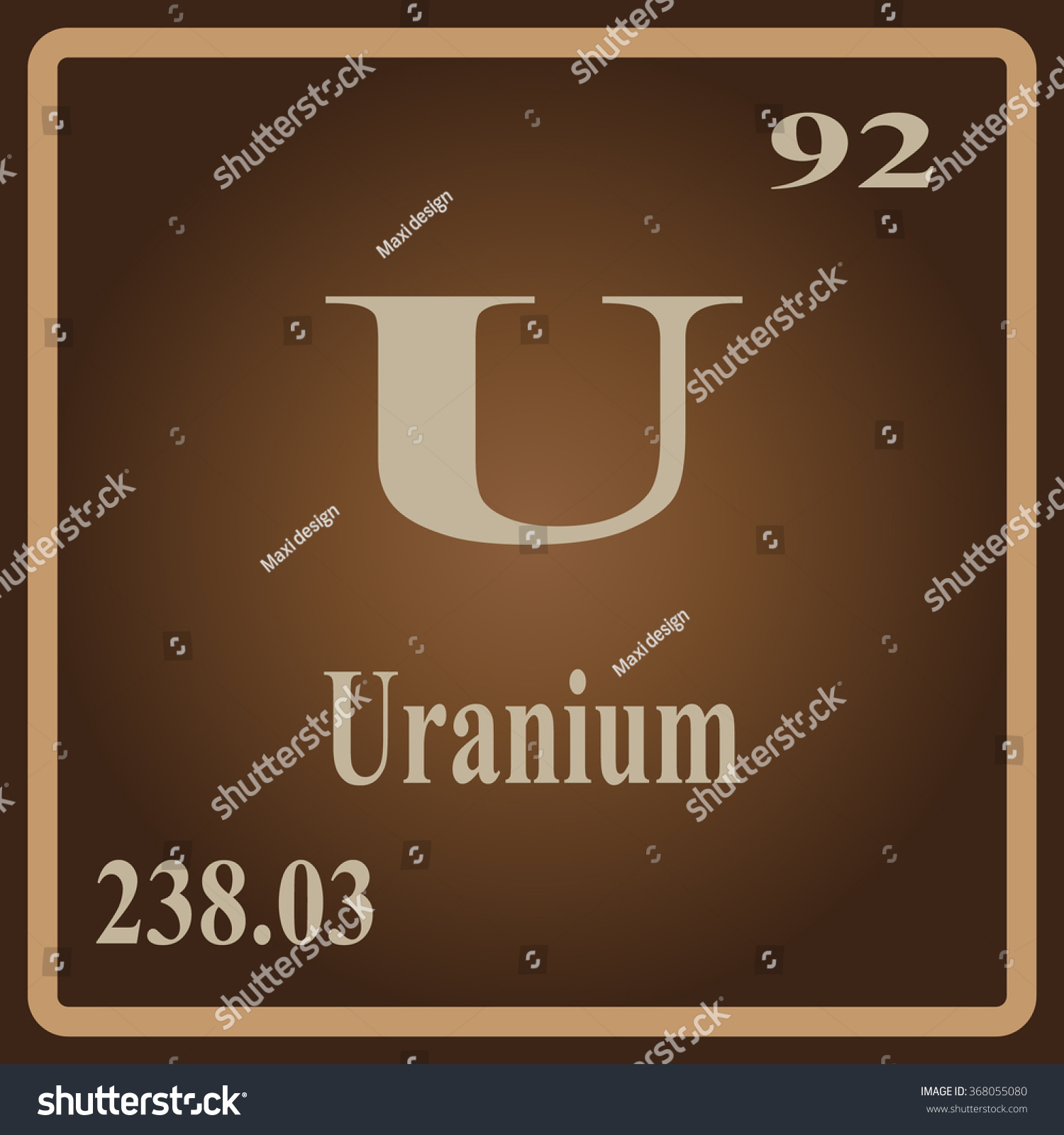 Periodic table of elements uranium choice image periodic table periodic table elements uranium stock vector 368055080 shutterstock the periodic table of the elements uranium gamestrikefo gamestrikefo Image collections