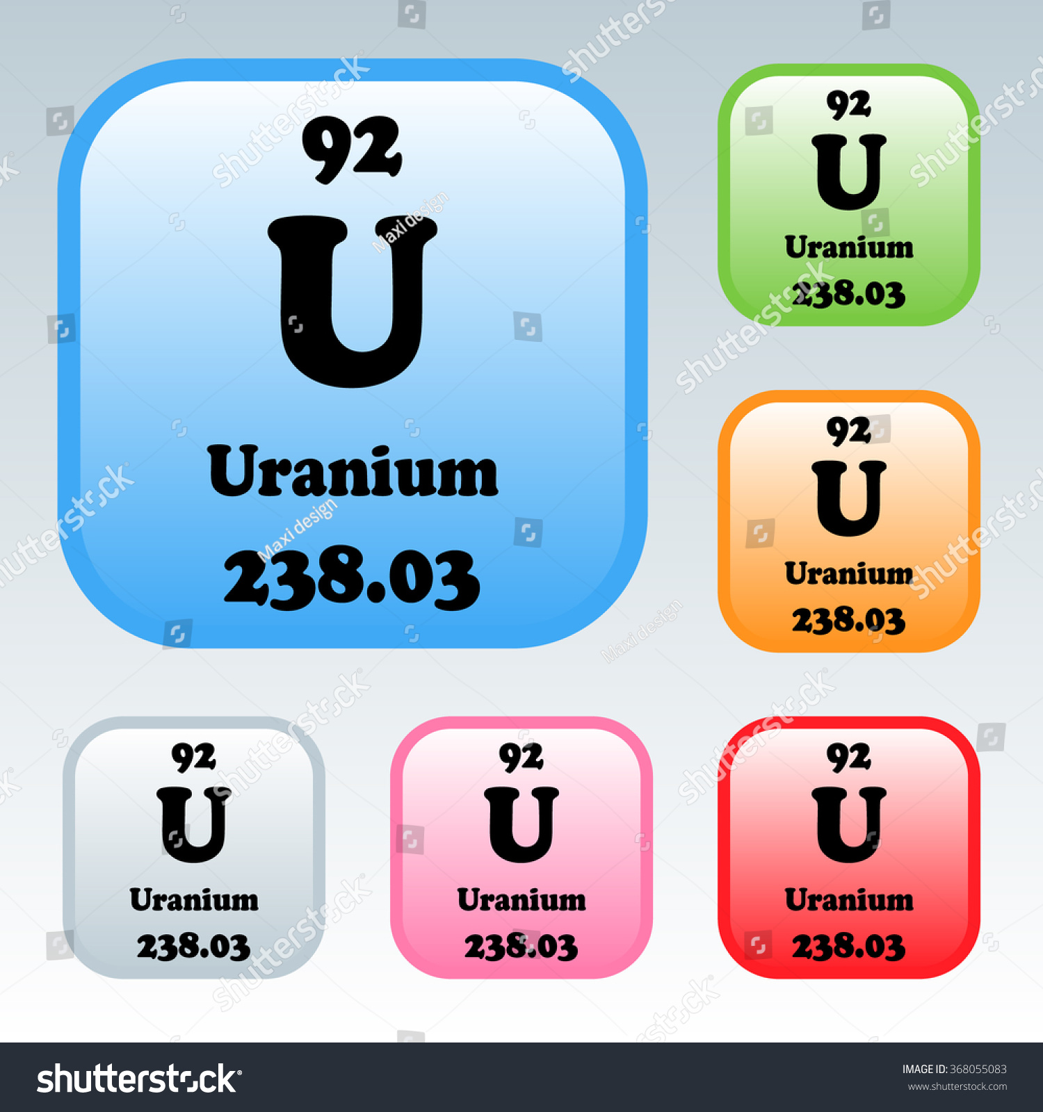 Periodic table uranium images periodic table images periodic table of elements uranium choice image periodic table periodic table elements uranium stock vector 368055083 gamestrikefo Image collections