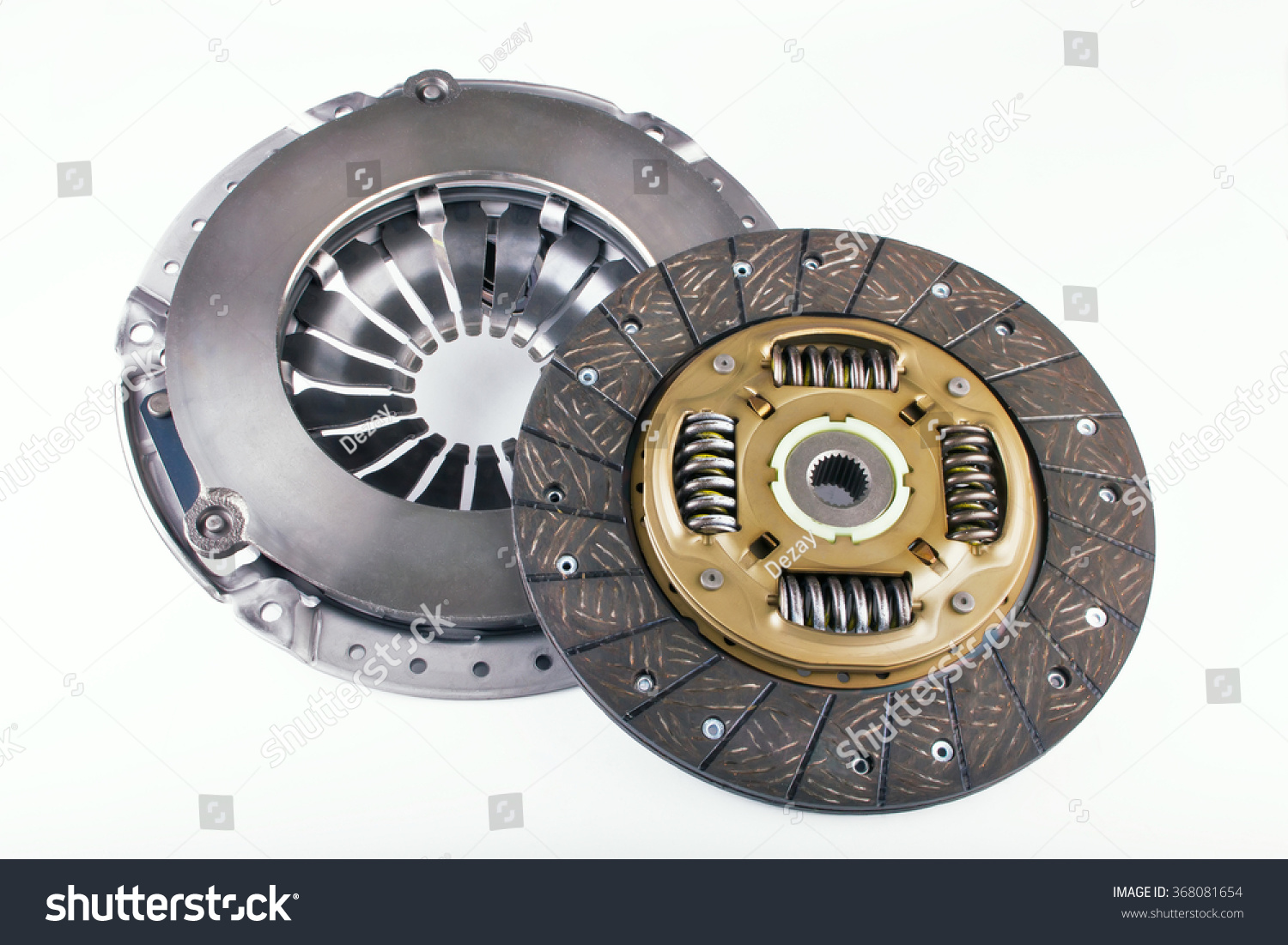 Clutches For Cars : Clutch disc cover car on stock photo