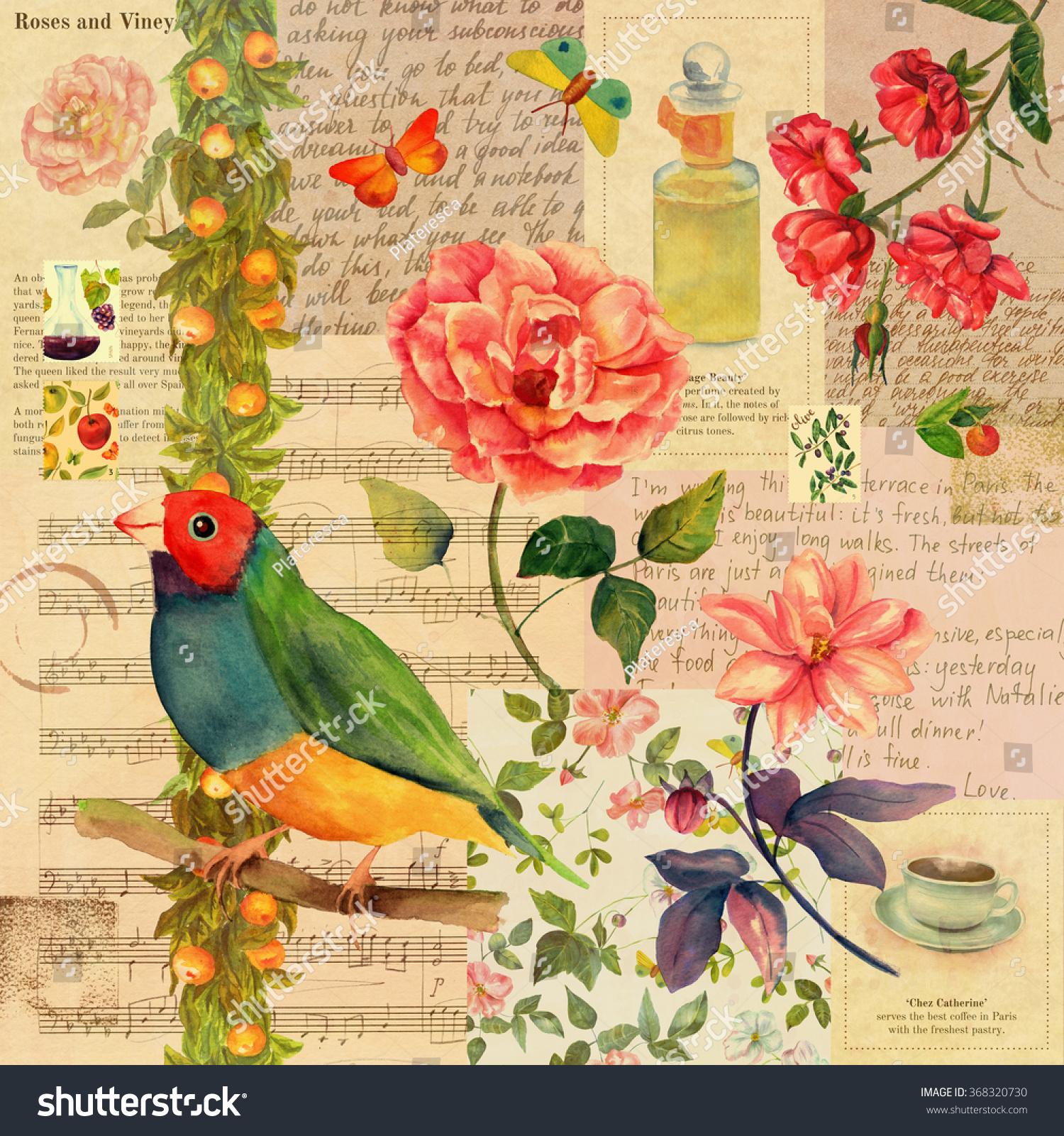 newspaper wallpaper of birds - photo #5
