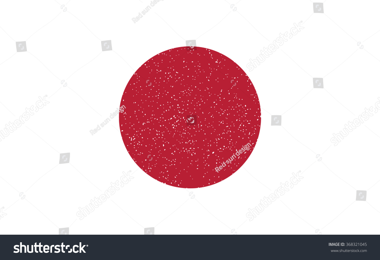 japan flag red circle have small stock vector 368321045 shutterstock