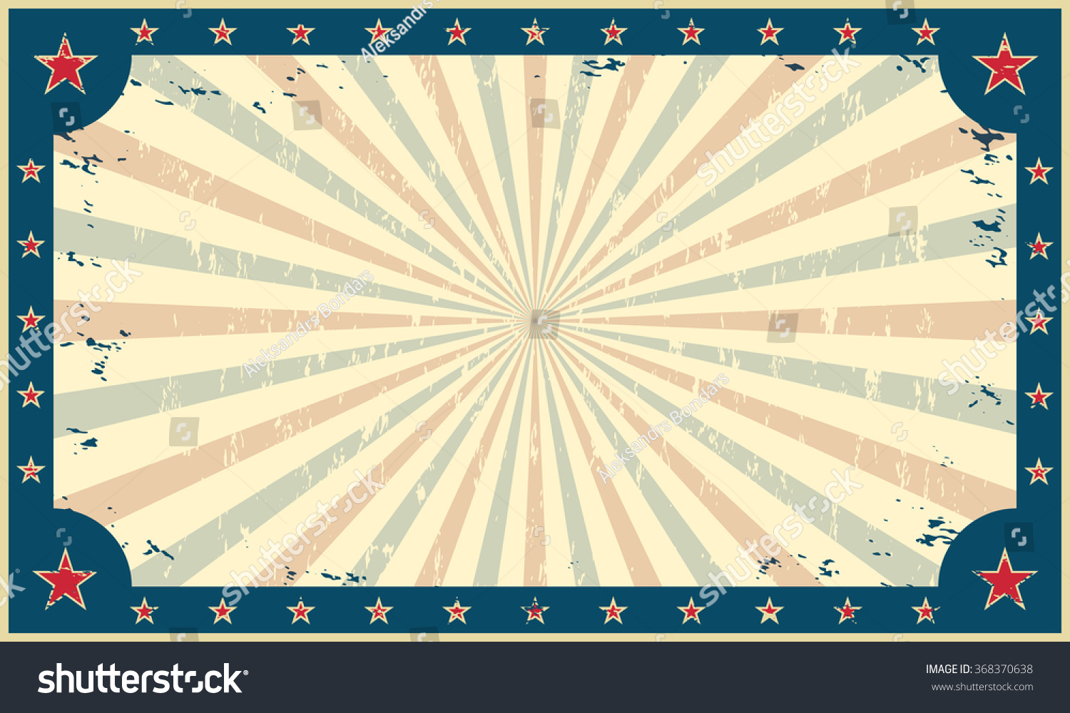 Vintage Grunge Background Template Circus Funfair Stock ...