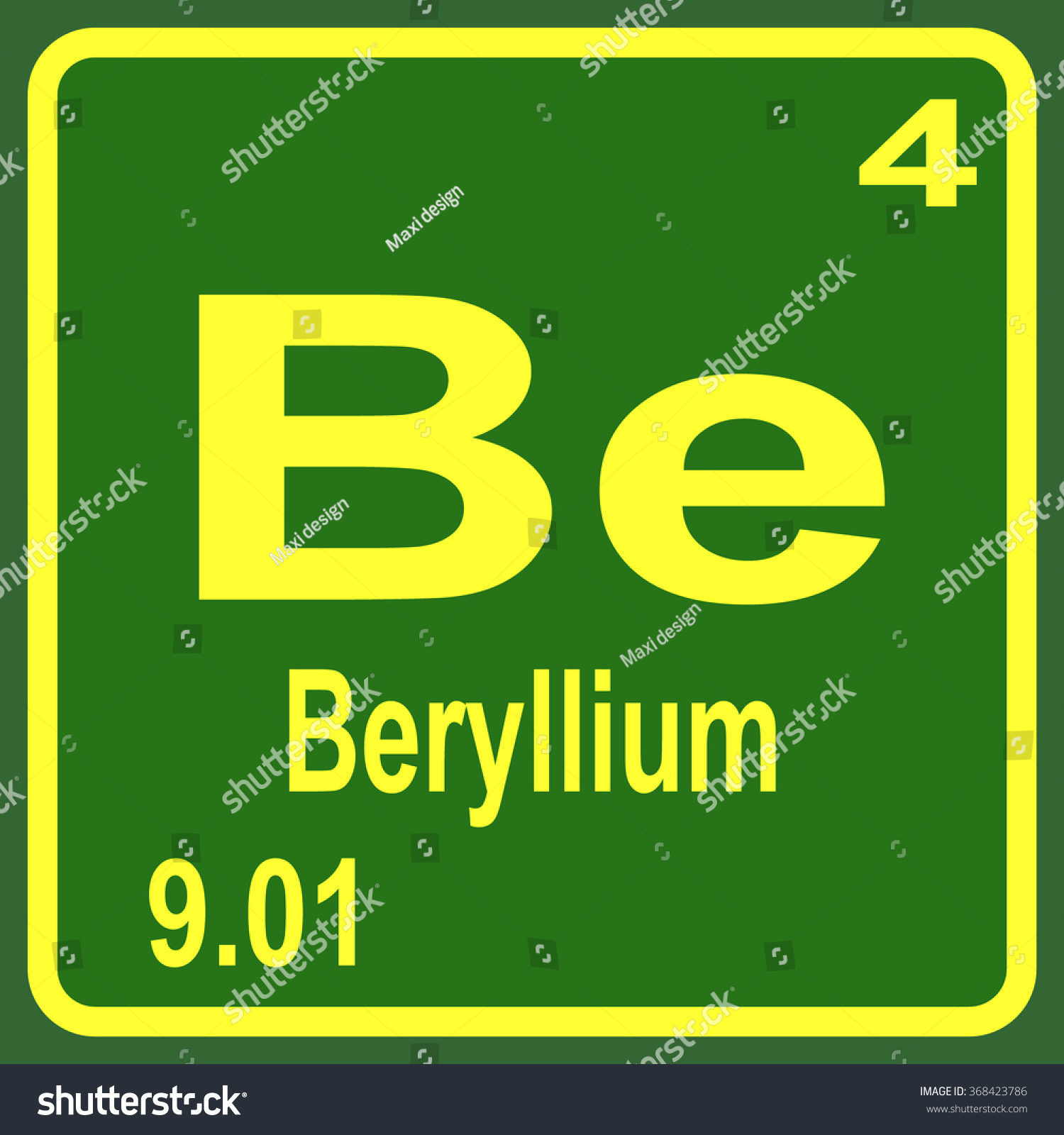 Beryllium on periodic table image collections periodic table images periodic table elements beryllium stock vector 368423786 periodic table of elements beryllium gamestrikefo image collections gamestrikefo Image collections