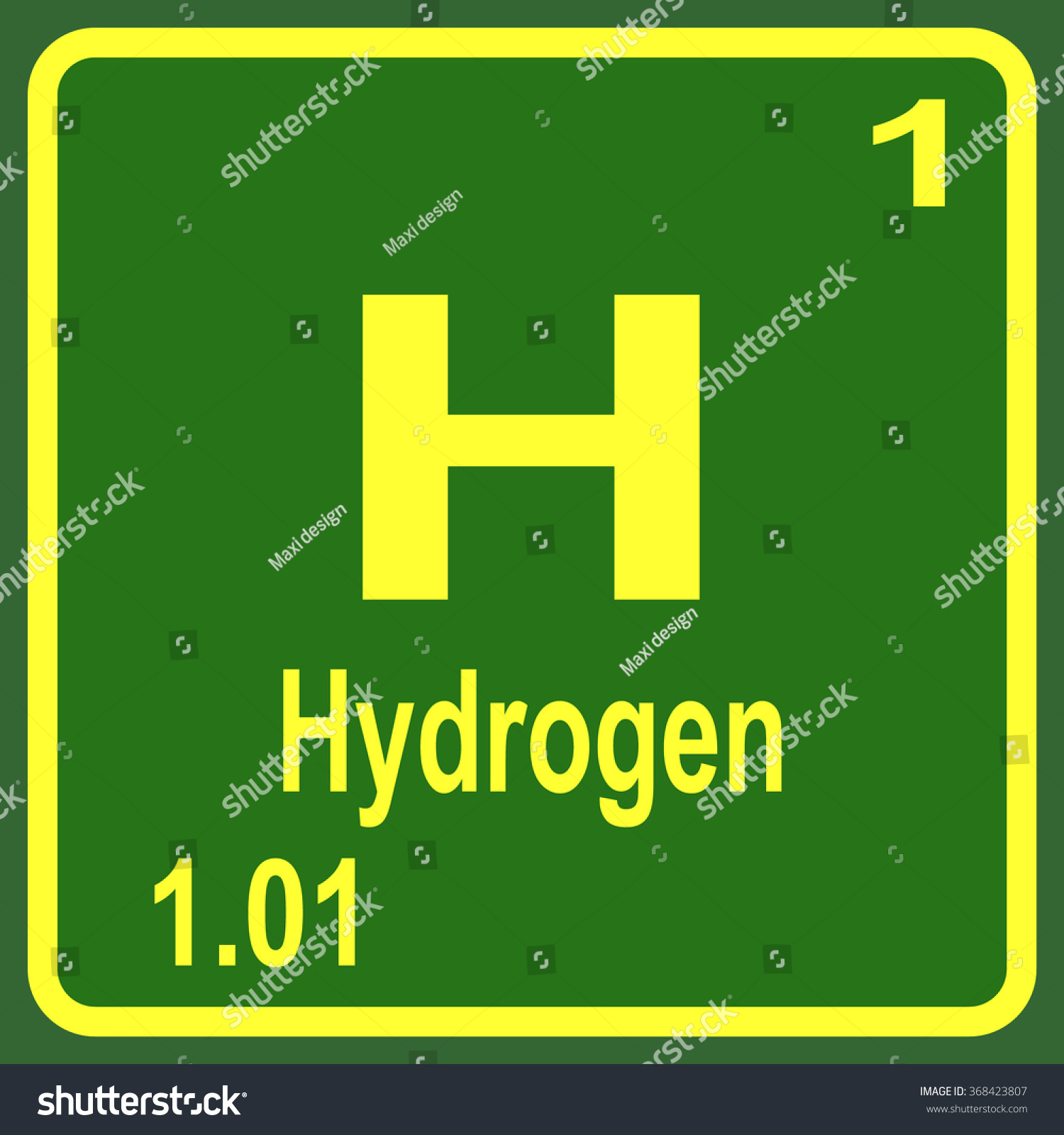 Periodic table elements hydrogen stock vector 368423807 shutterstock periodic table of elements hydrogen gamestrikefo Choice Image