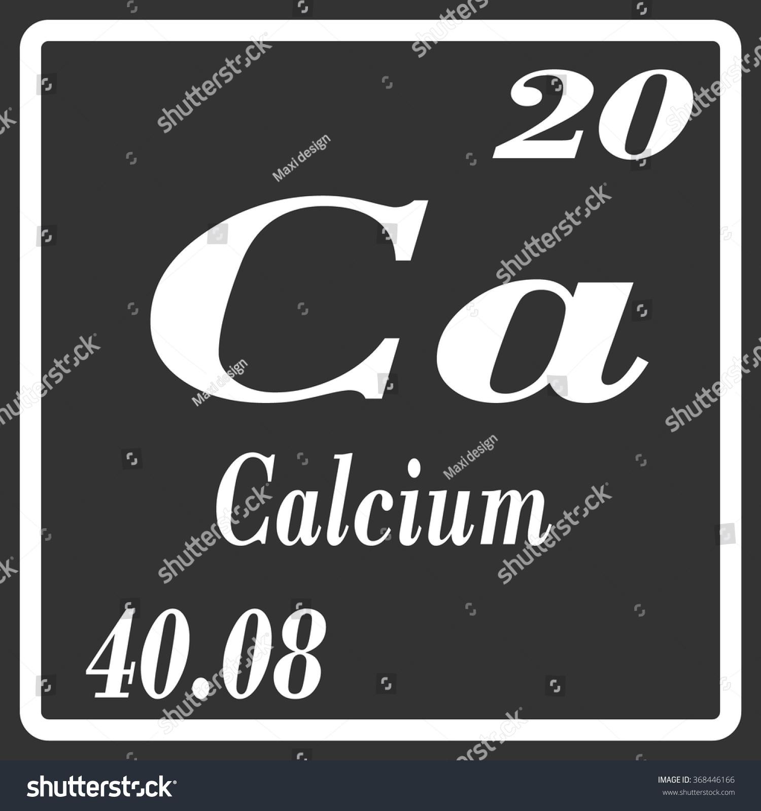 Periodic table elements calcium stock vector 368446166 shutterstock periodic table of elements calcium biocorpaavc