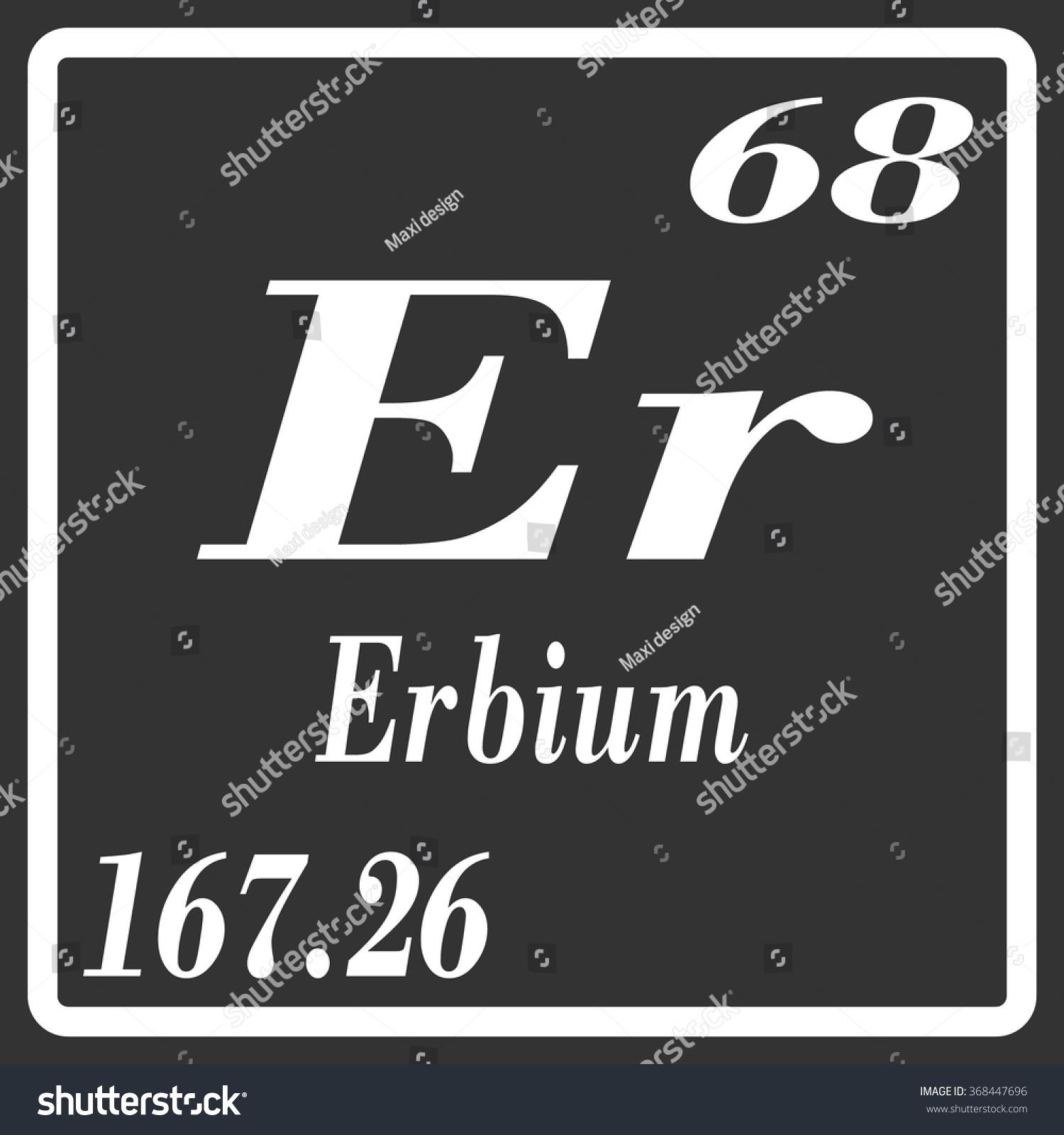 Erbium er element periodic table retail store layout software periodic table elements erbium stock vector 368447696 shutterstock stock vector periodic table of elements erbium 368447696 gamestrikefo Image collections