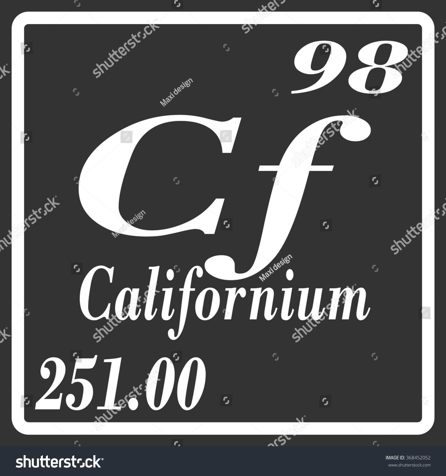 Californium periodic table gallery periodic table images periodic table elements californium stock vector 368452052 periodic table of elements californium gamestrikefo gallery gamestrikefo Images
