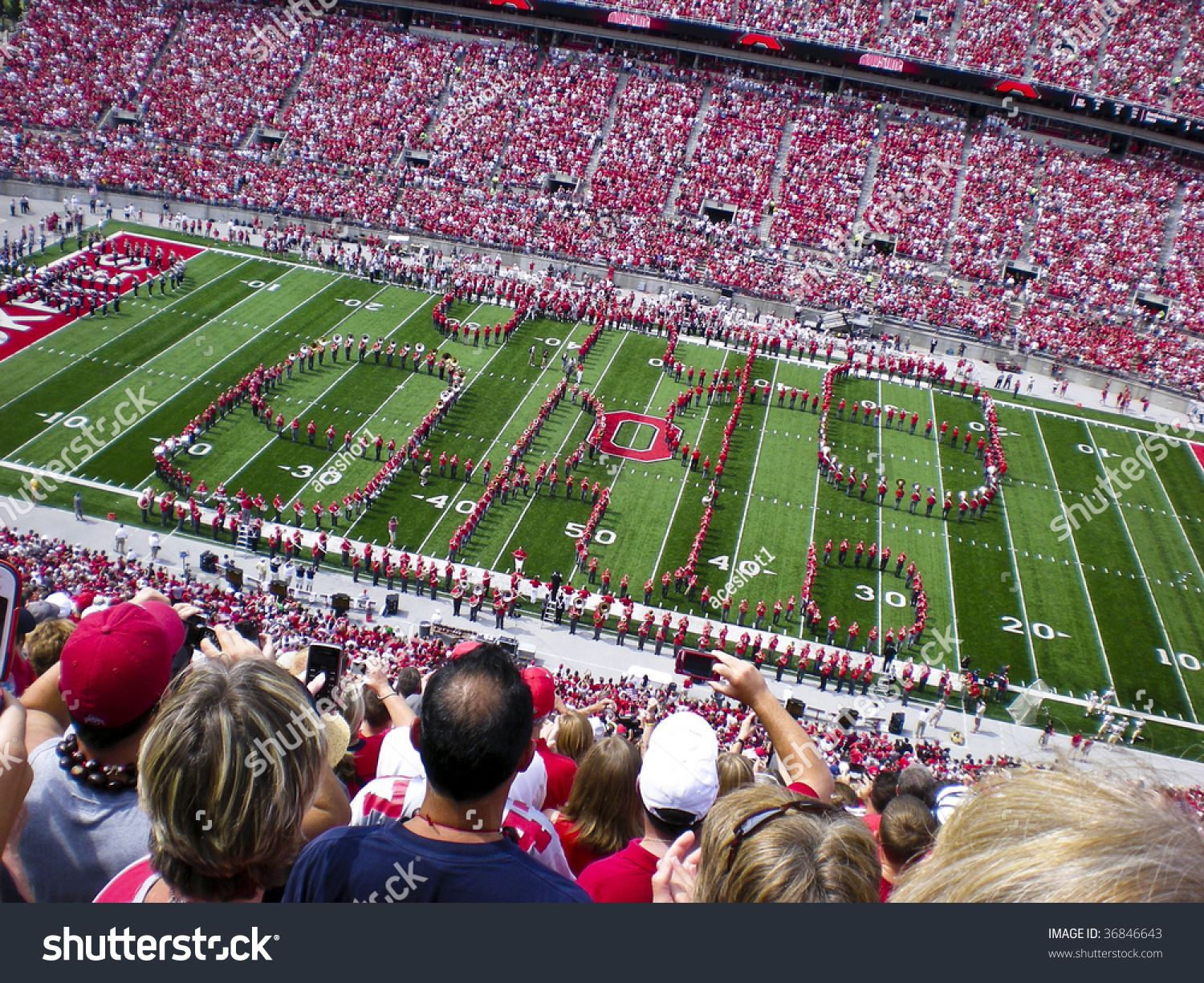 COLUMBUSOHSEPTEMBER 5 Ohio State Alumni Band Stock Photo (Edit Now