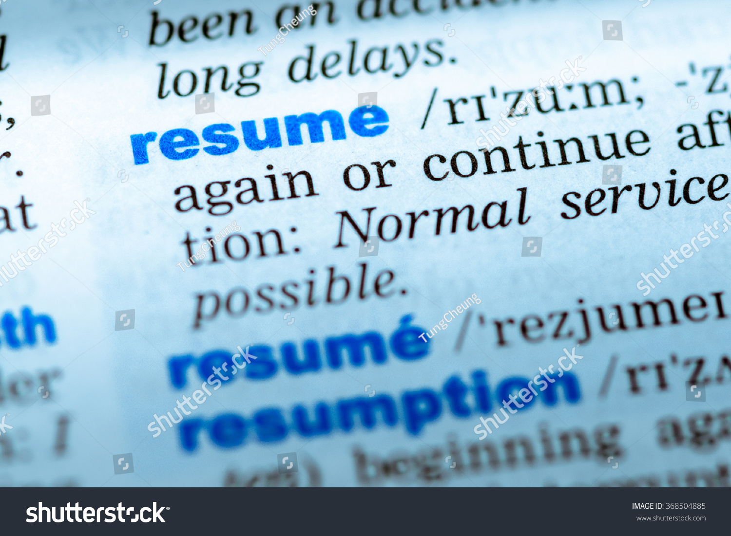 Royalty Free Close Up Of Word In English Dictionary 368504885