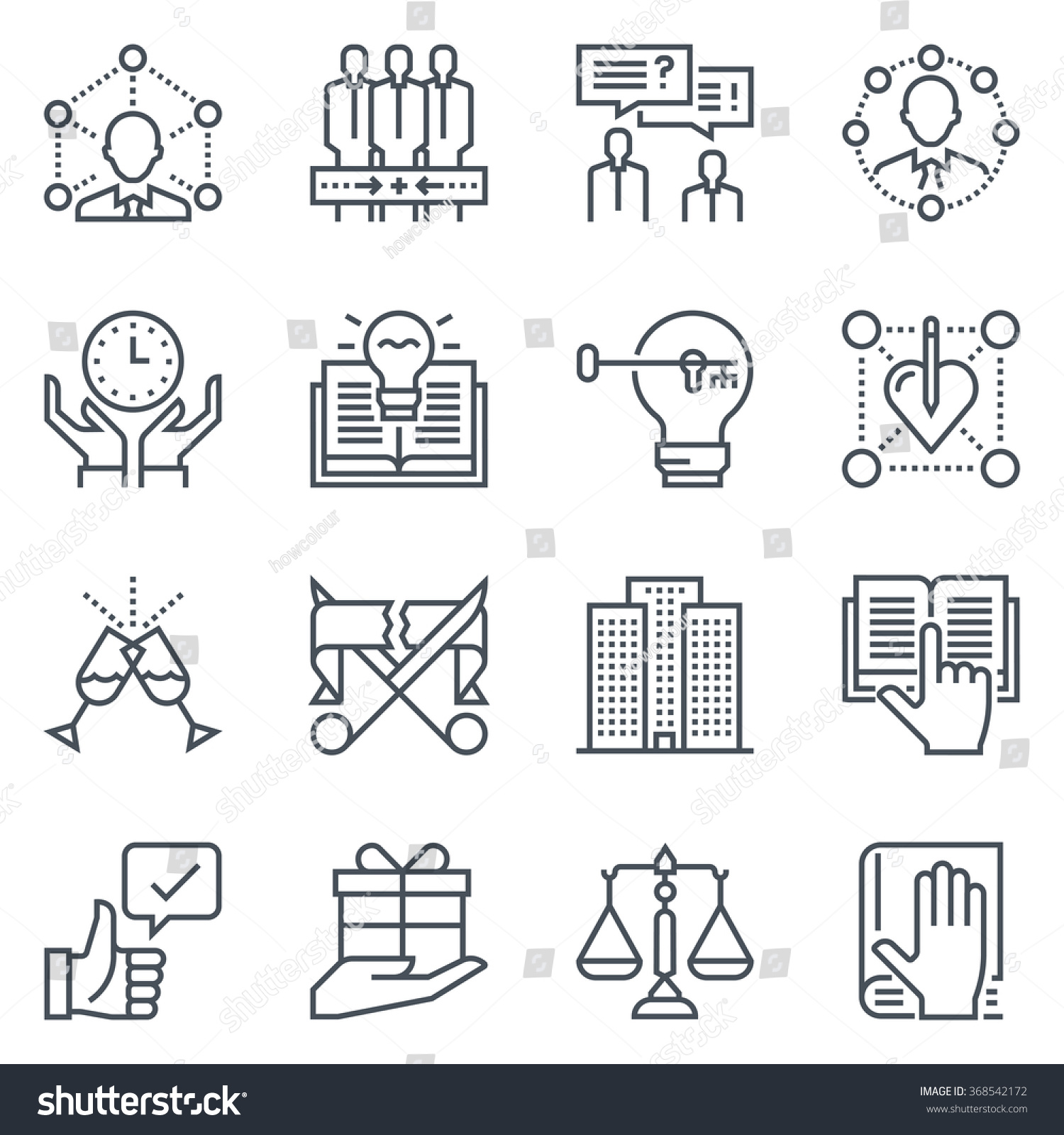 business employment icon set suitable info stock vector  business and employment icon set suitable for info graphics websites and print media black