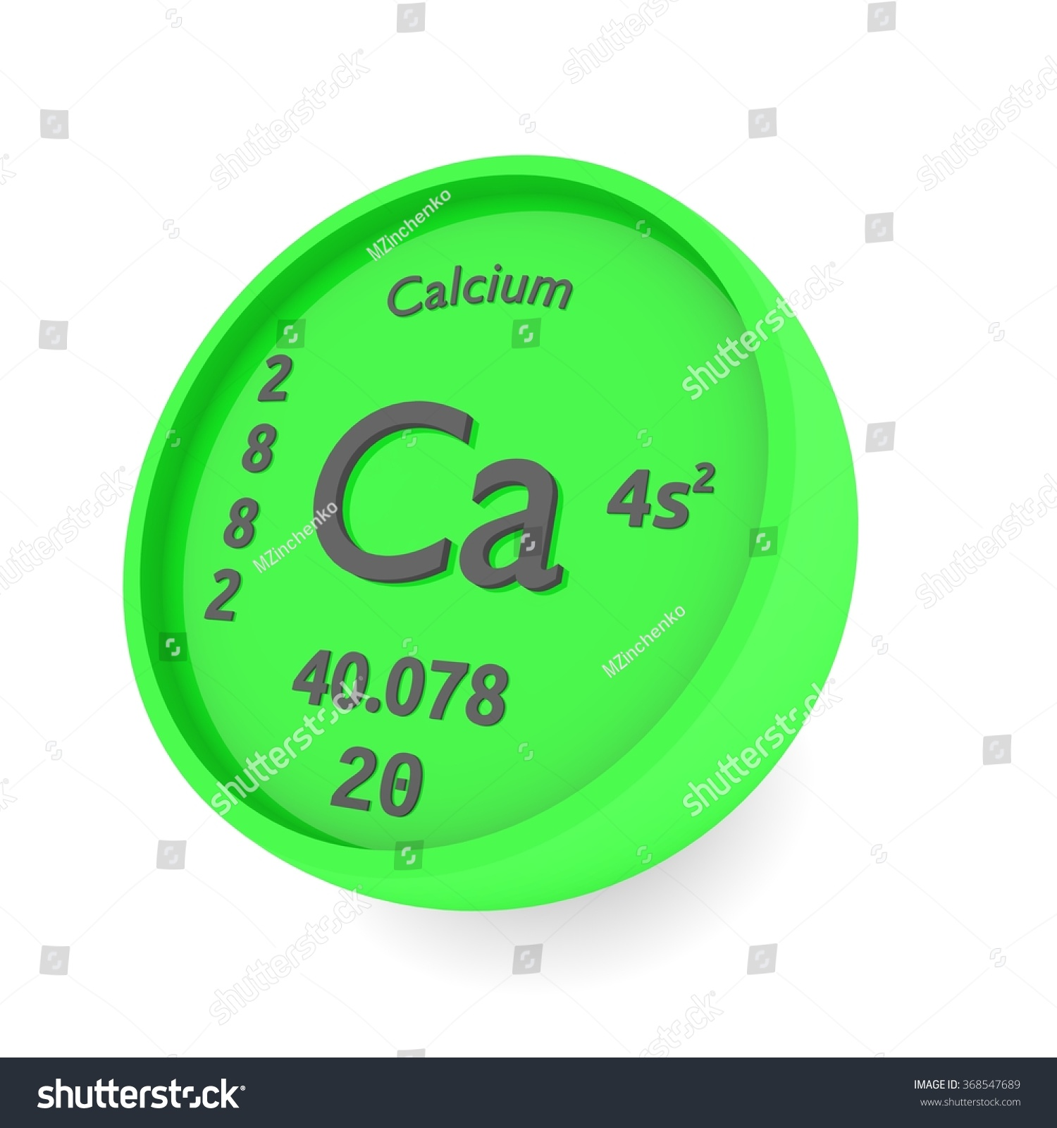 Calcium chemical element sin periodic table stock illustration calcium chemical element sin in periodic table gamestrikefo Images