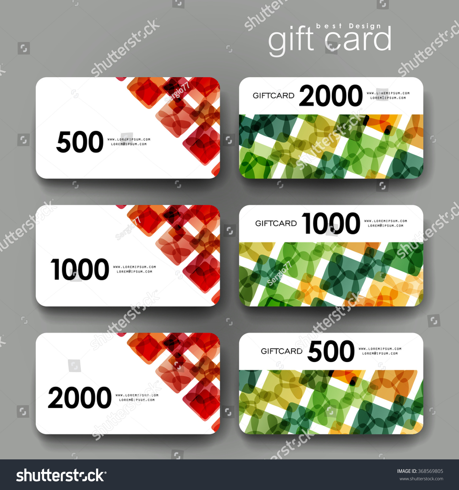 Design of discount card - Gift Coupon Discount Card Template With Abstract Background Creative Layout Design