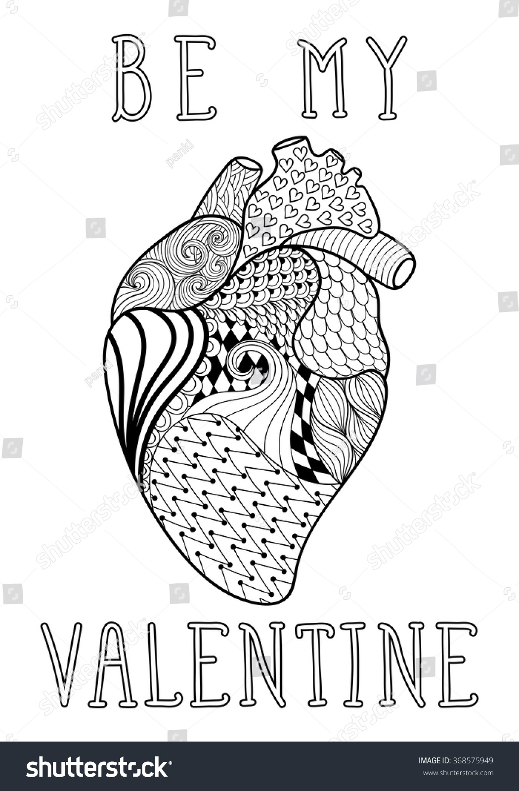 Coloring Human Heart ArtHumanPrintable Coloring Pages Free Download