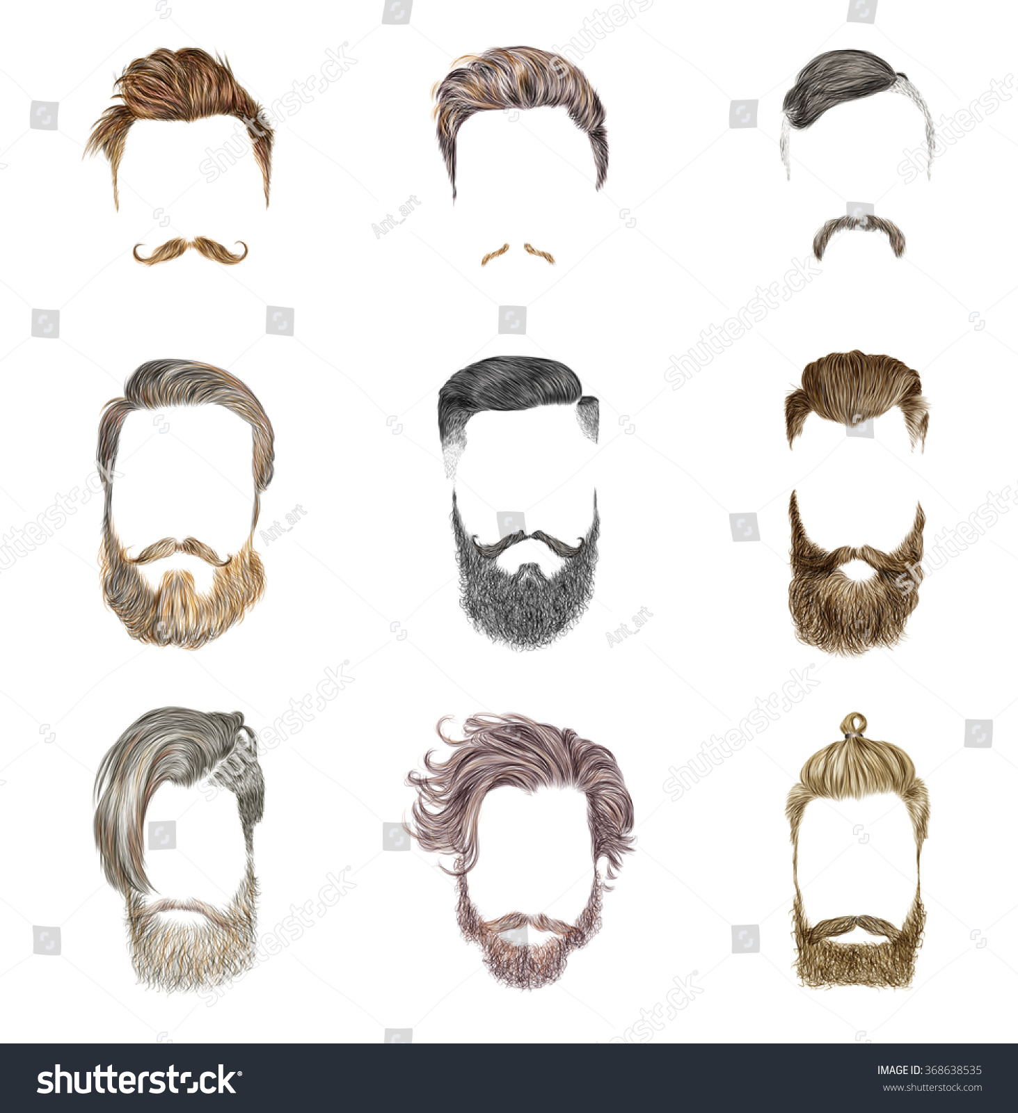 how to get moustache and beard