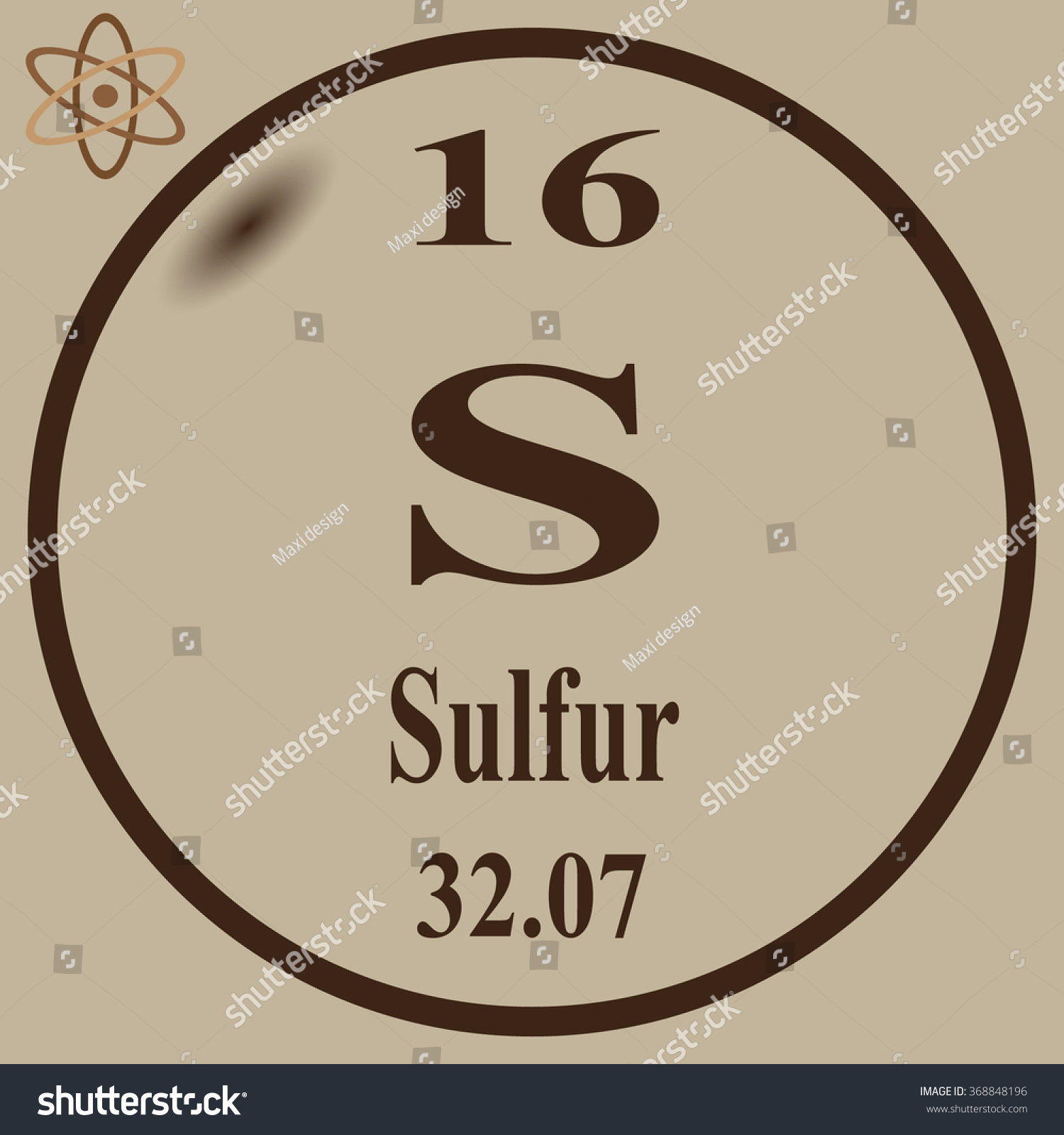 Periodic table of elements sulfur images periodic table images periodic table elements sulfur stock vector 368848196 shutterstock periodic table of elements sulfur gamestrikefo images gamestrikefo Image collections