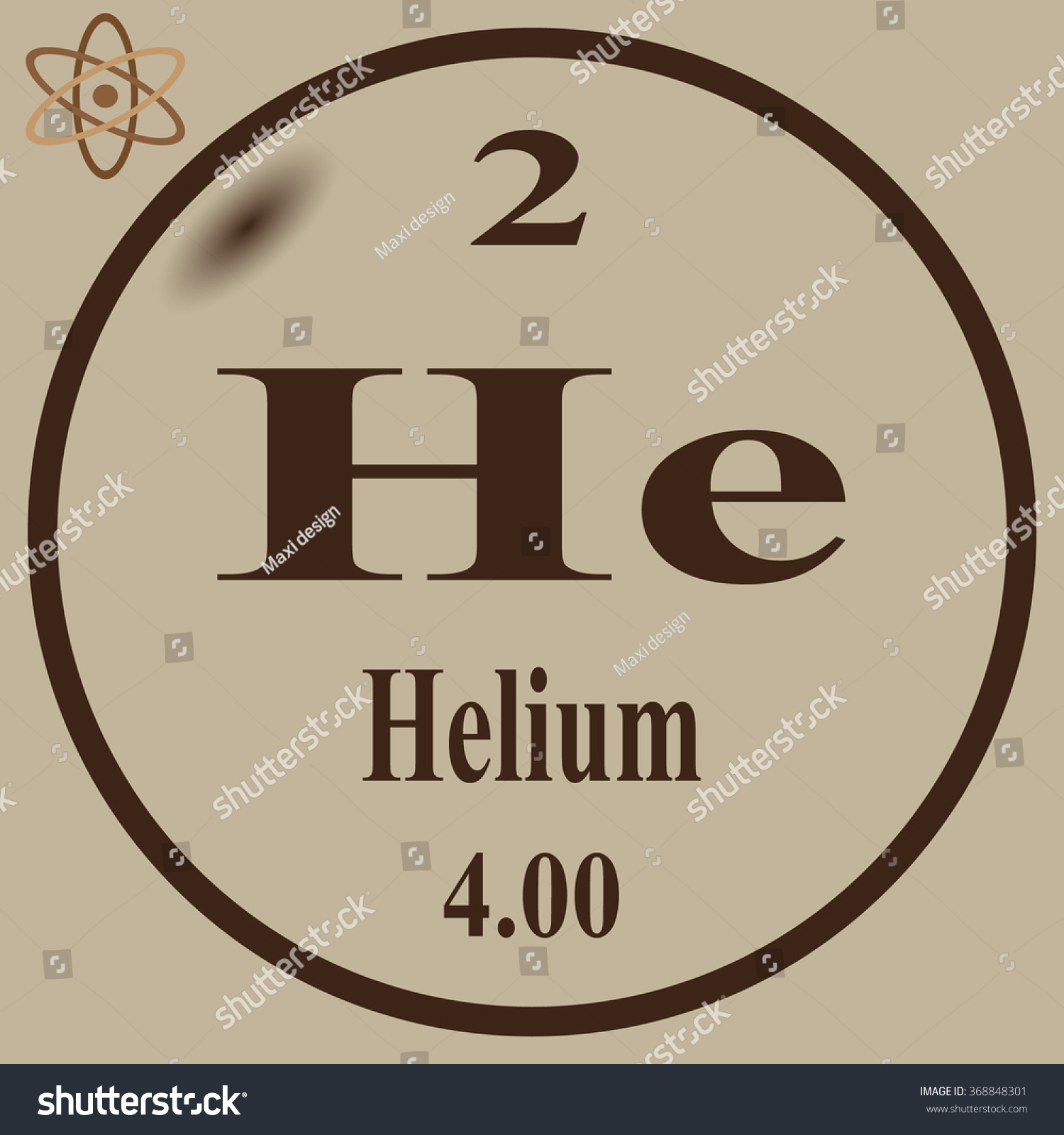 Periodic table elements helium stock vector 368848301 shutterstock urtaz Image collections