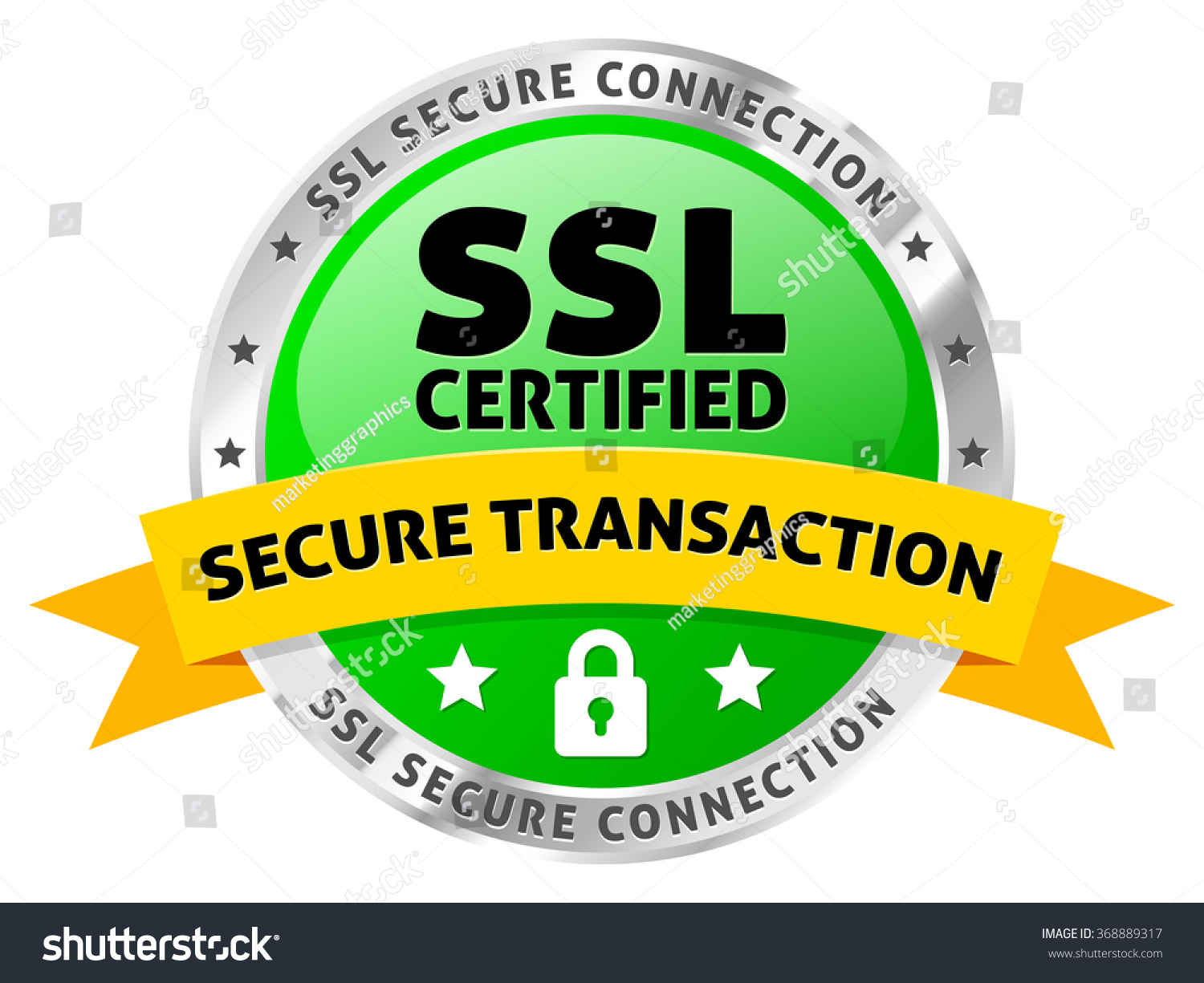 Ssl certificate icon secure transactions stock vector 368889317 ssl certificate icon for secure transactions xflitez Gallery