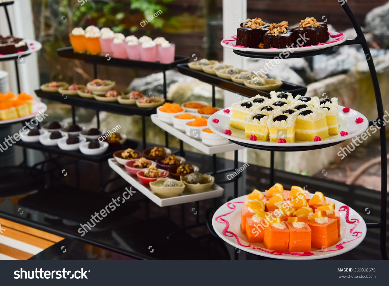 Sweets Dessert Corner Stock Photo Edit Now 369008675 Shutterstock