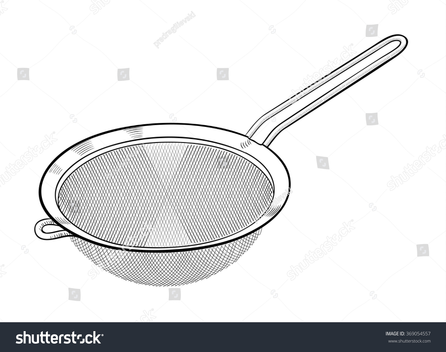 Cooking Strainer Clip Art – Cliparts