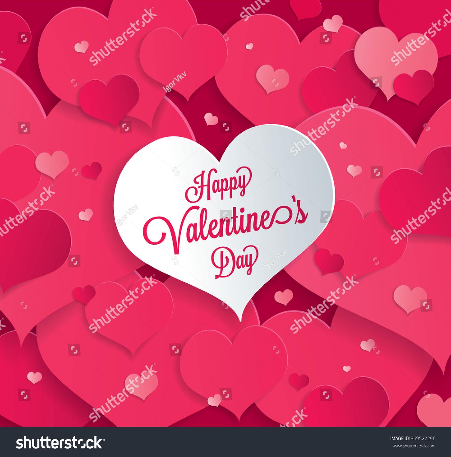 Valentines Greeting Card Ez Canvas