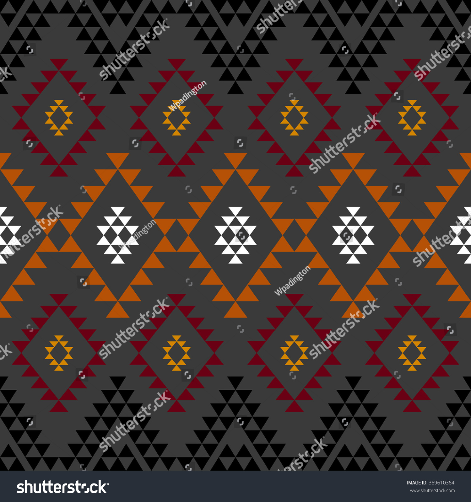 Background geometric mexican patterns seamless vector zigzag maya - Seamless Geometrical Ethnic Pattern Mexican Aztec Motives Grey Background