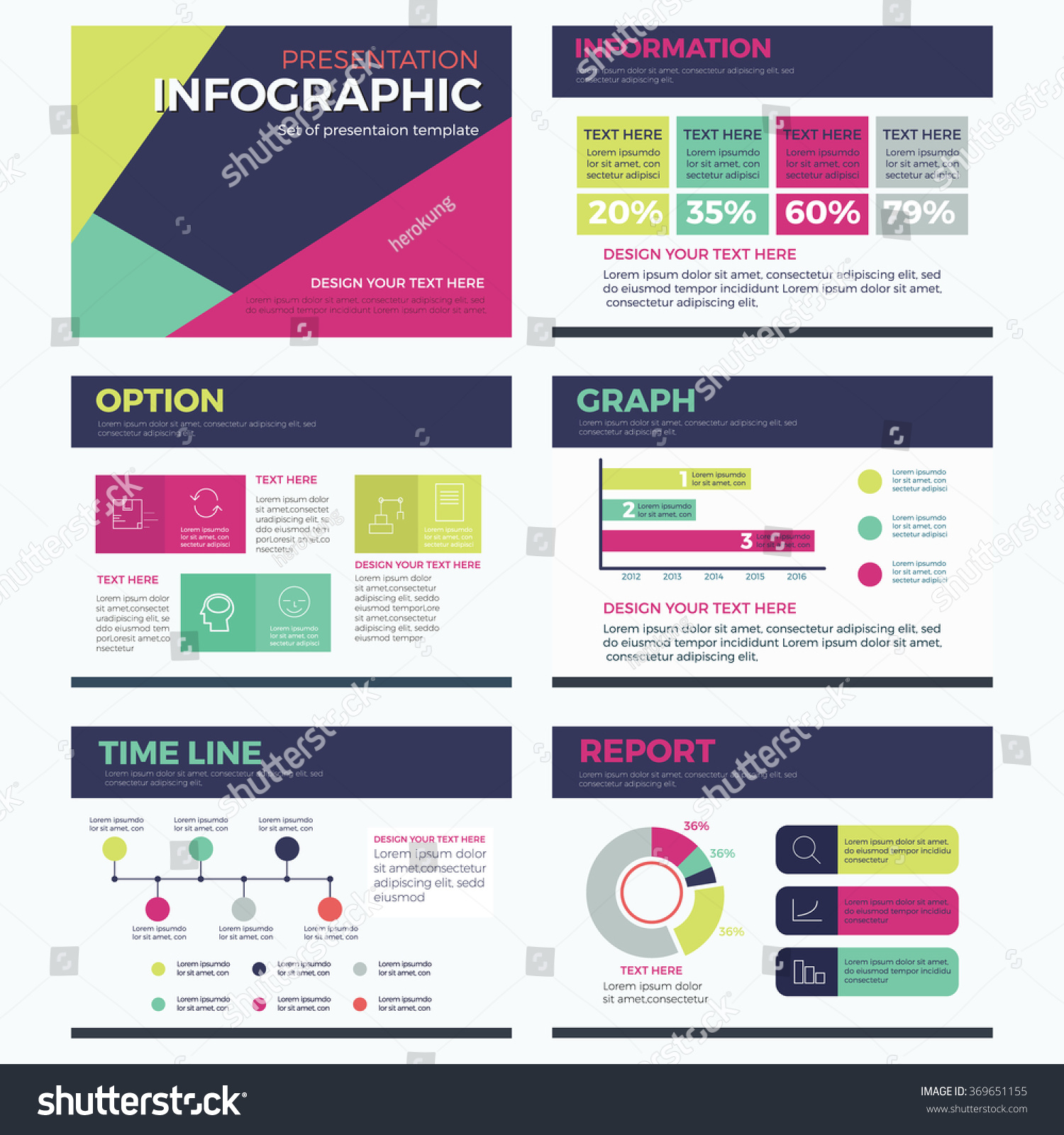 Set infographic presentation template powerpoint modern stock set of infographic presentation template powerpoint modern vector design illustration alramifo Gallery