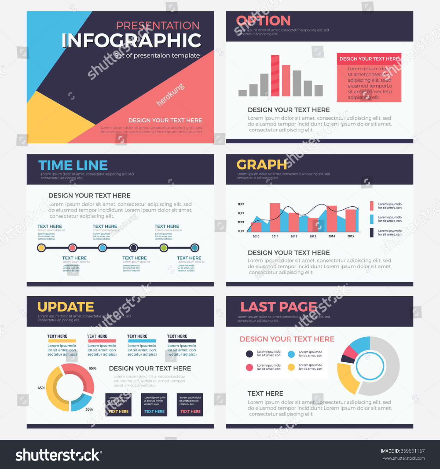 Infographic presentation template powerpoint business marketing infographic presentation template powerpoint business marketing vector design illustration alramifo Image collections
