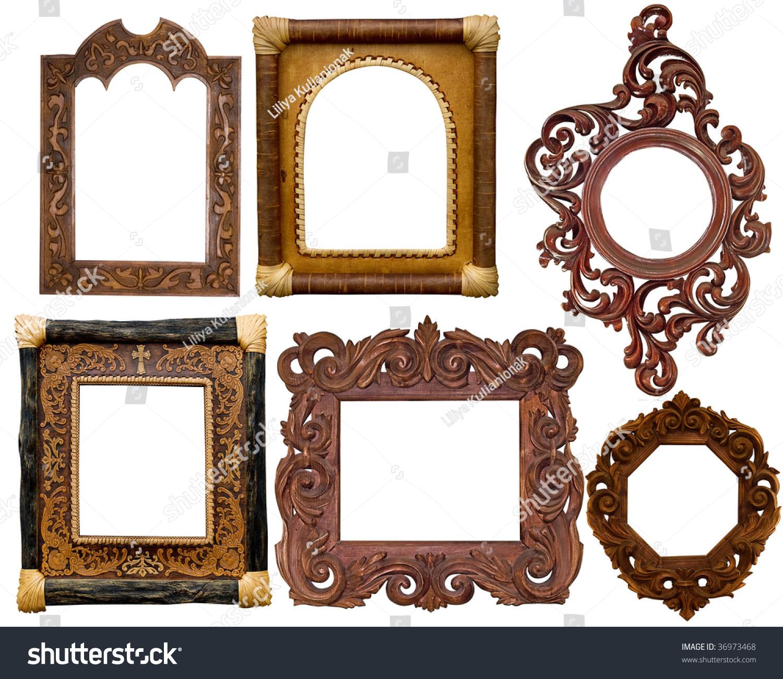 collection of carved decorative frames - Decorative Frames